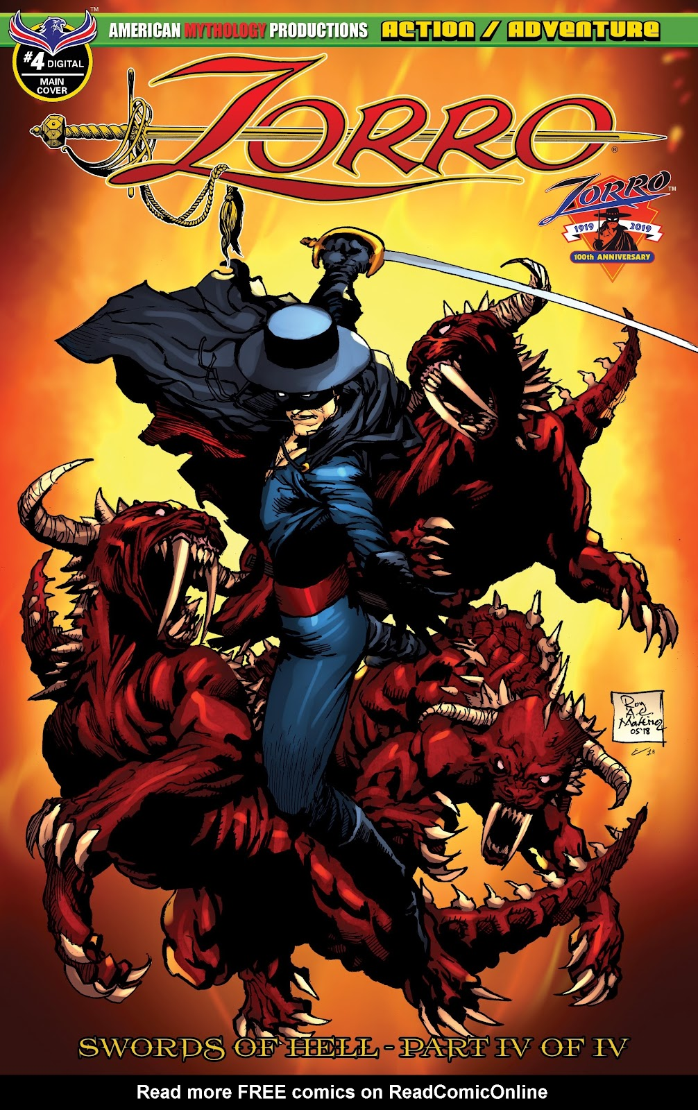 Read online Zorro: Swords of Hell comic -  Issue #4 - 1