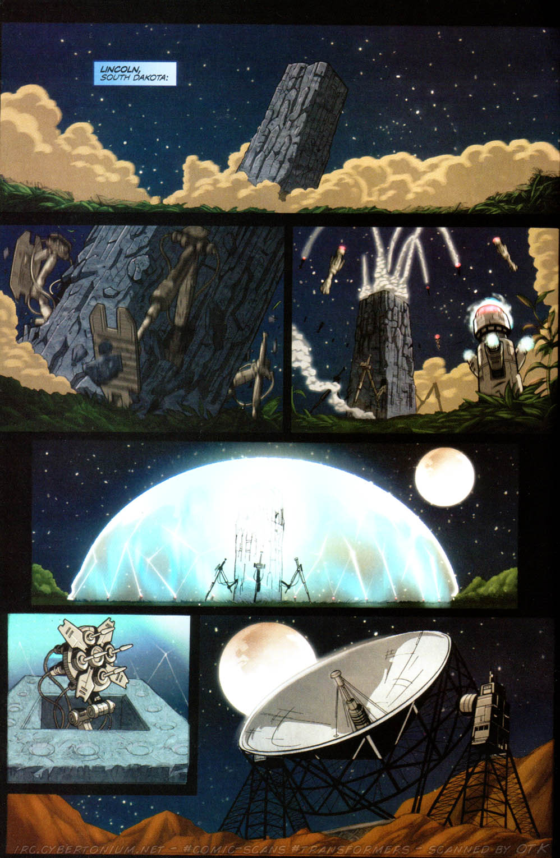 Read online Transformers Armada comic -  Issue #8 - 4