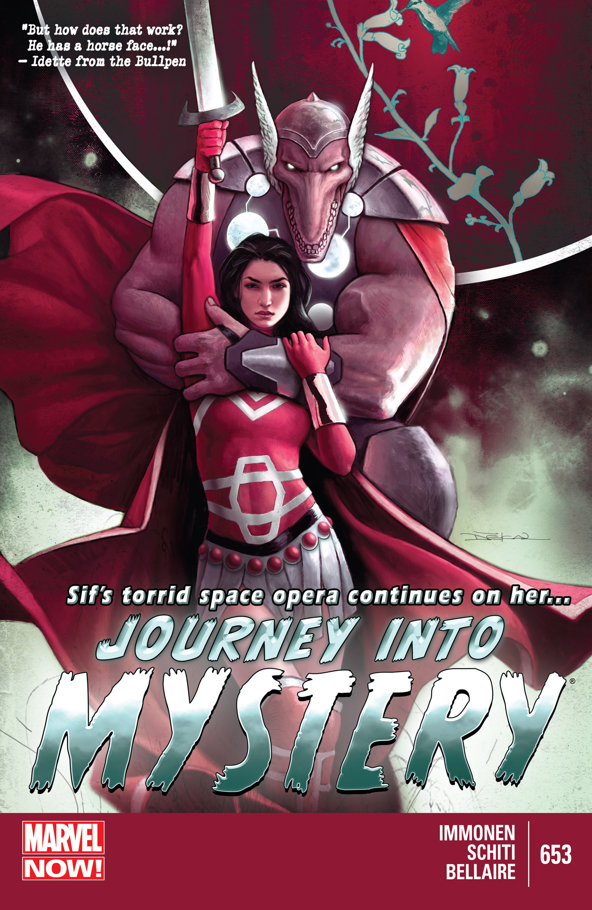 Read online Journey into Mystery (2011) comic -  Issue #653 - 1