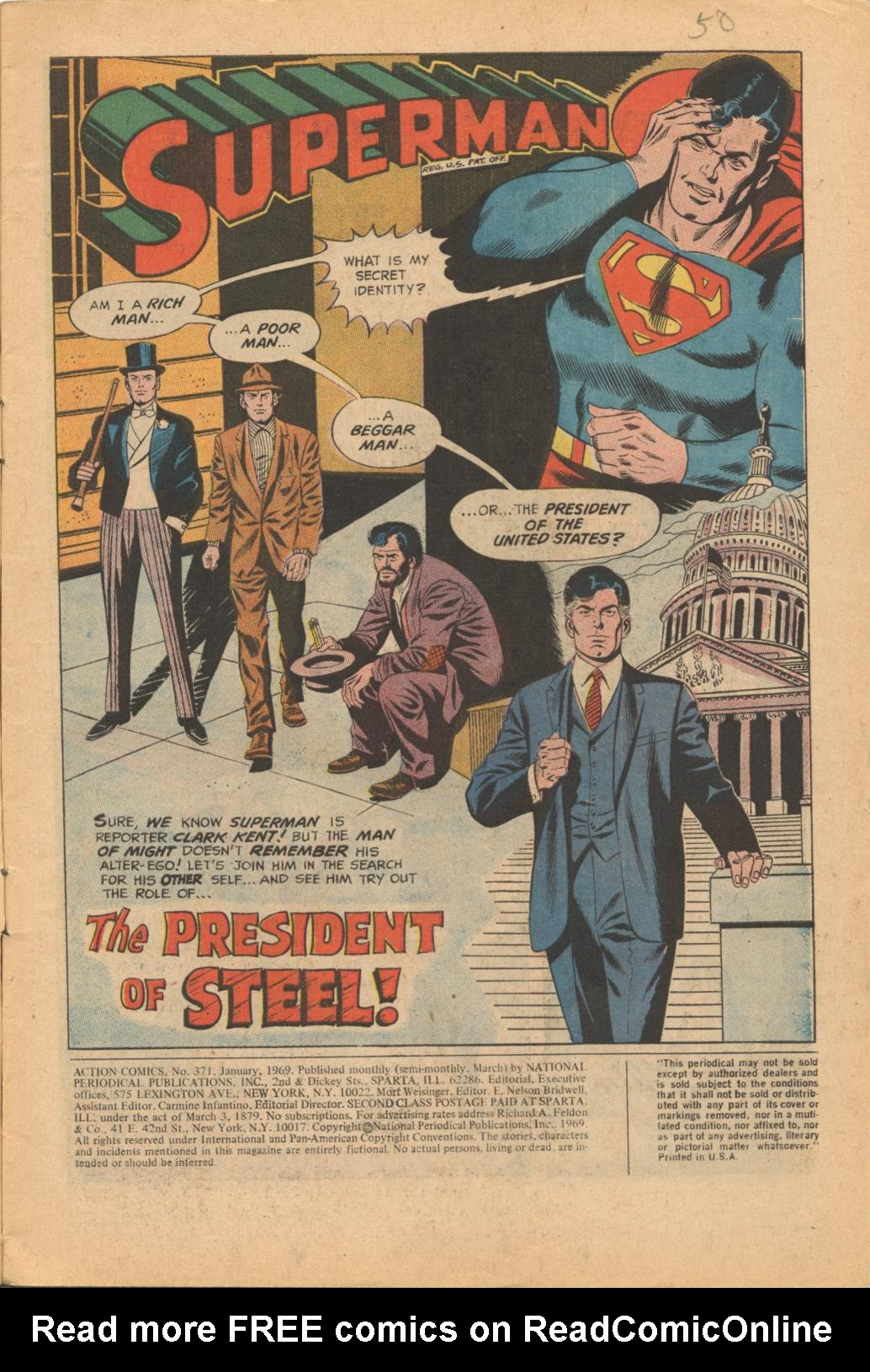 Read online Action Comics (1938) comic -  Issue #371 - 3