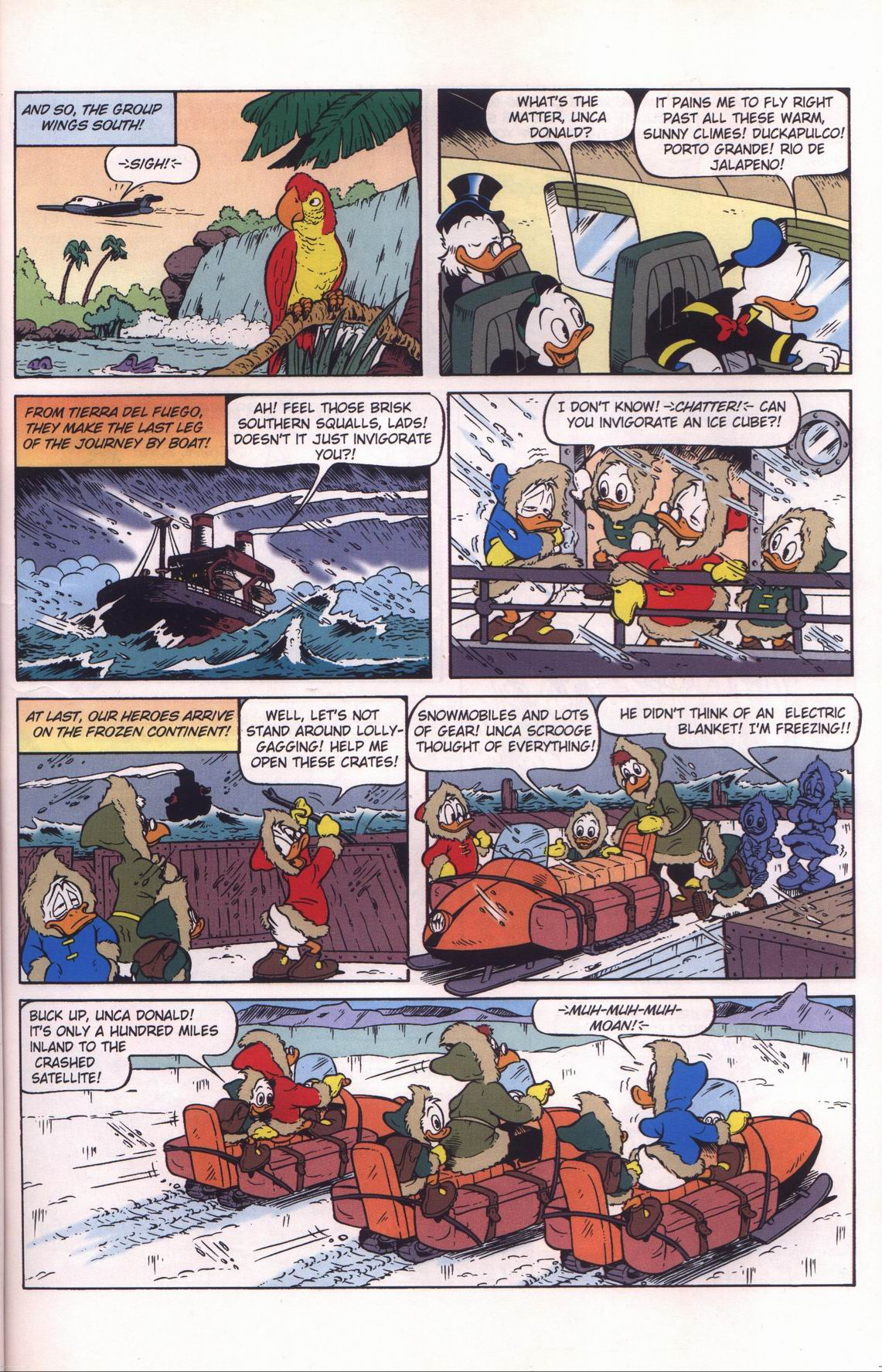 Read online Uncle Scrooge (1953) comic -  Issue #312 - 33