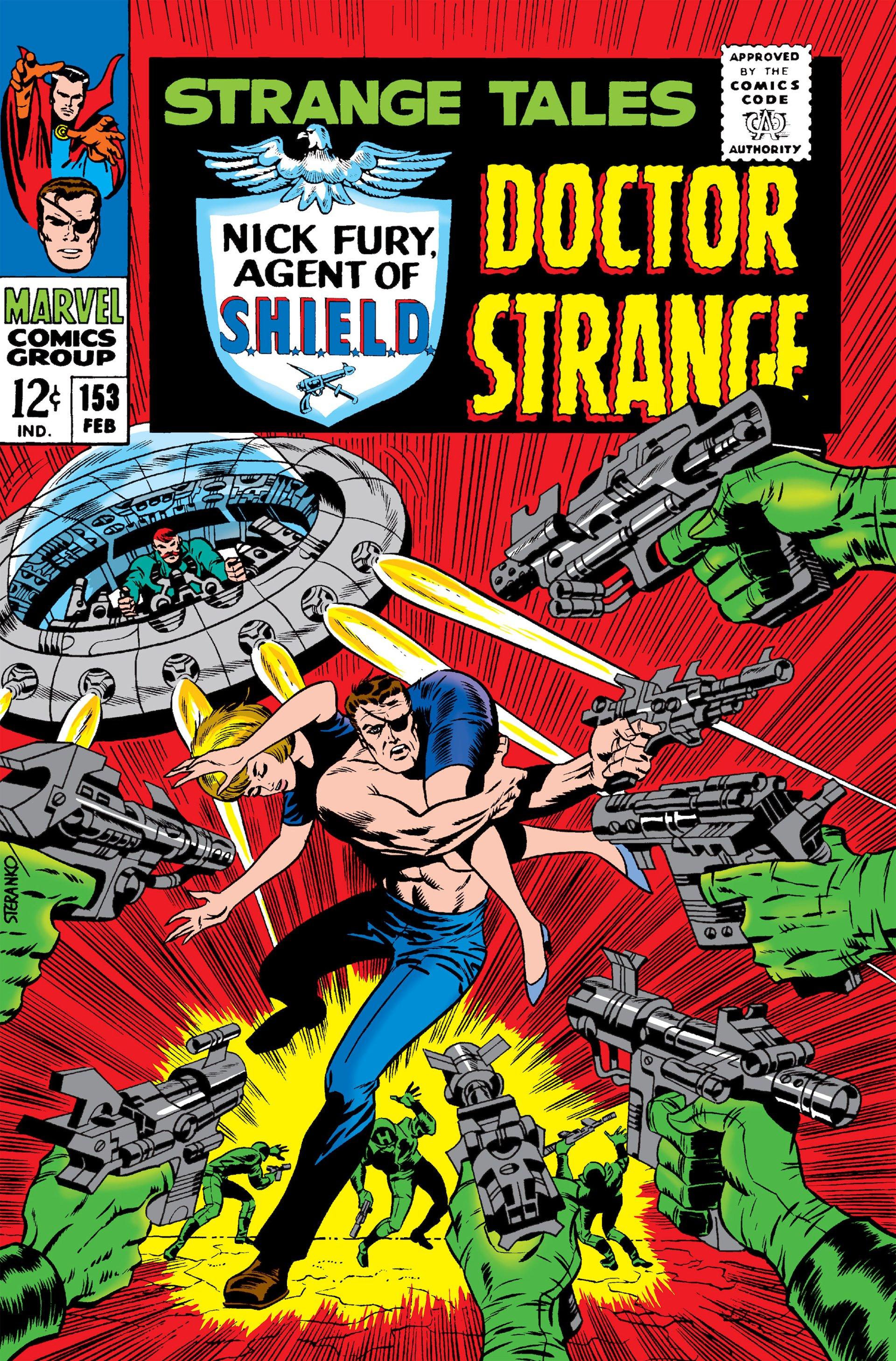 Strange Tales (1951) 153 Page 1