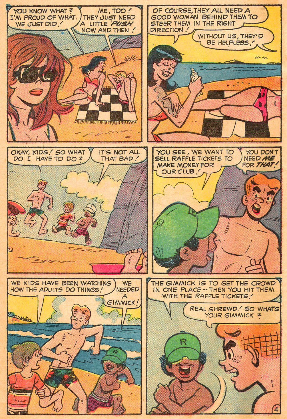 Read online Archie's Girls Betty and Veronica comic -  Issue #191 - 6