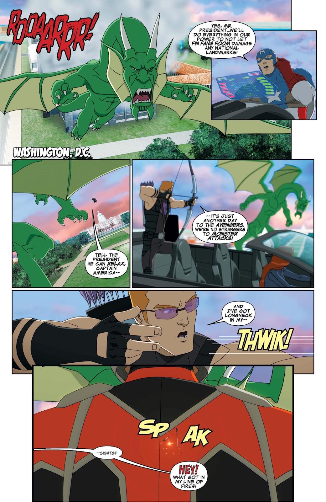 Read online Marvel Universe Avengers Assemble Season 2 comic -  Issue #9 - 3