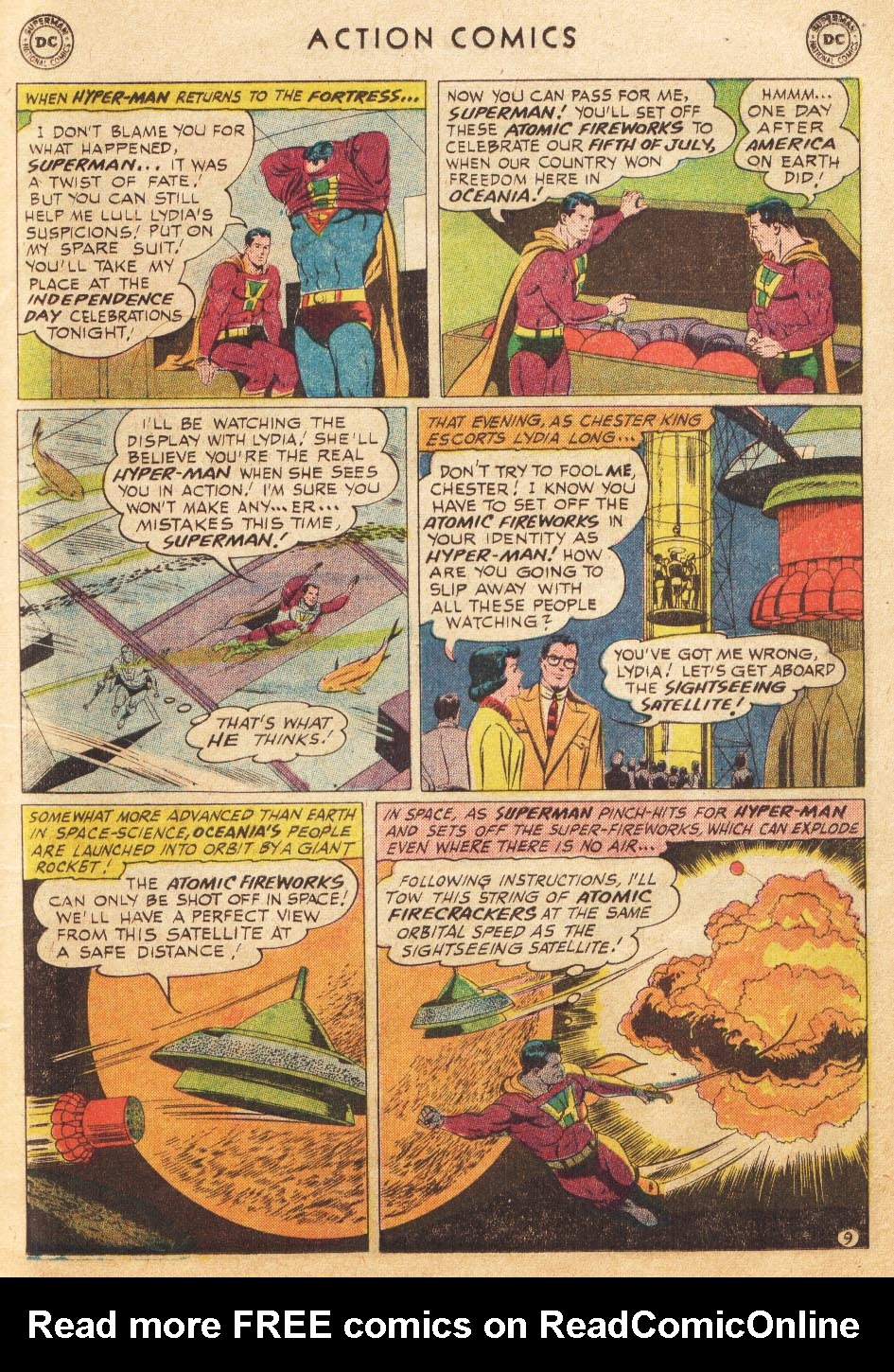 Read online Action Comics (1938) comic -  Issue #265 - 11