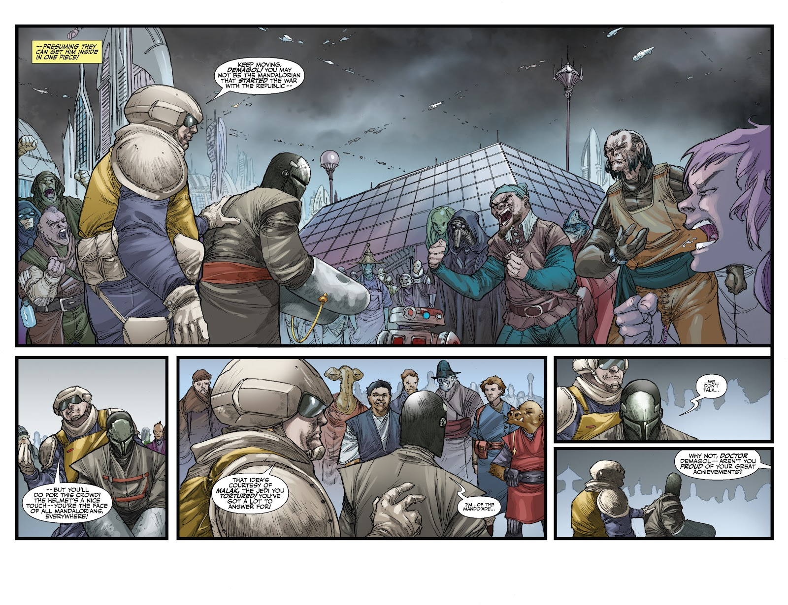 Read online Star Wars Legends: The Old Republic - Epic Collection comic -  Issue # TPB 3 (Part 3) - 14