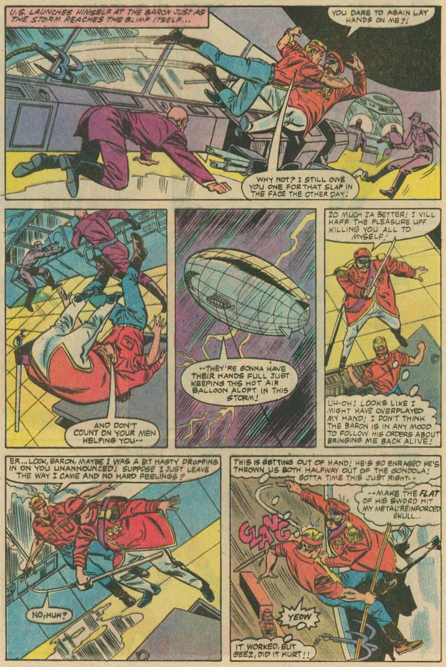 Read online U.S. 1 comic -  Issue #4 - 21