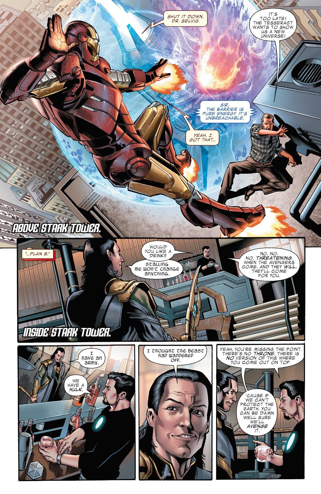 Read online Marvel's The Avengers comic -  Issue #2 - 9