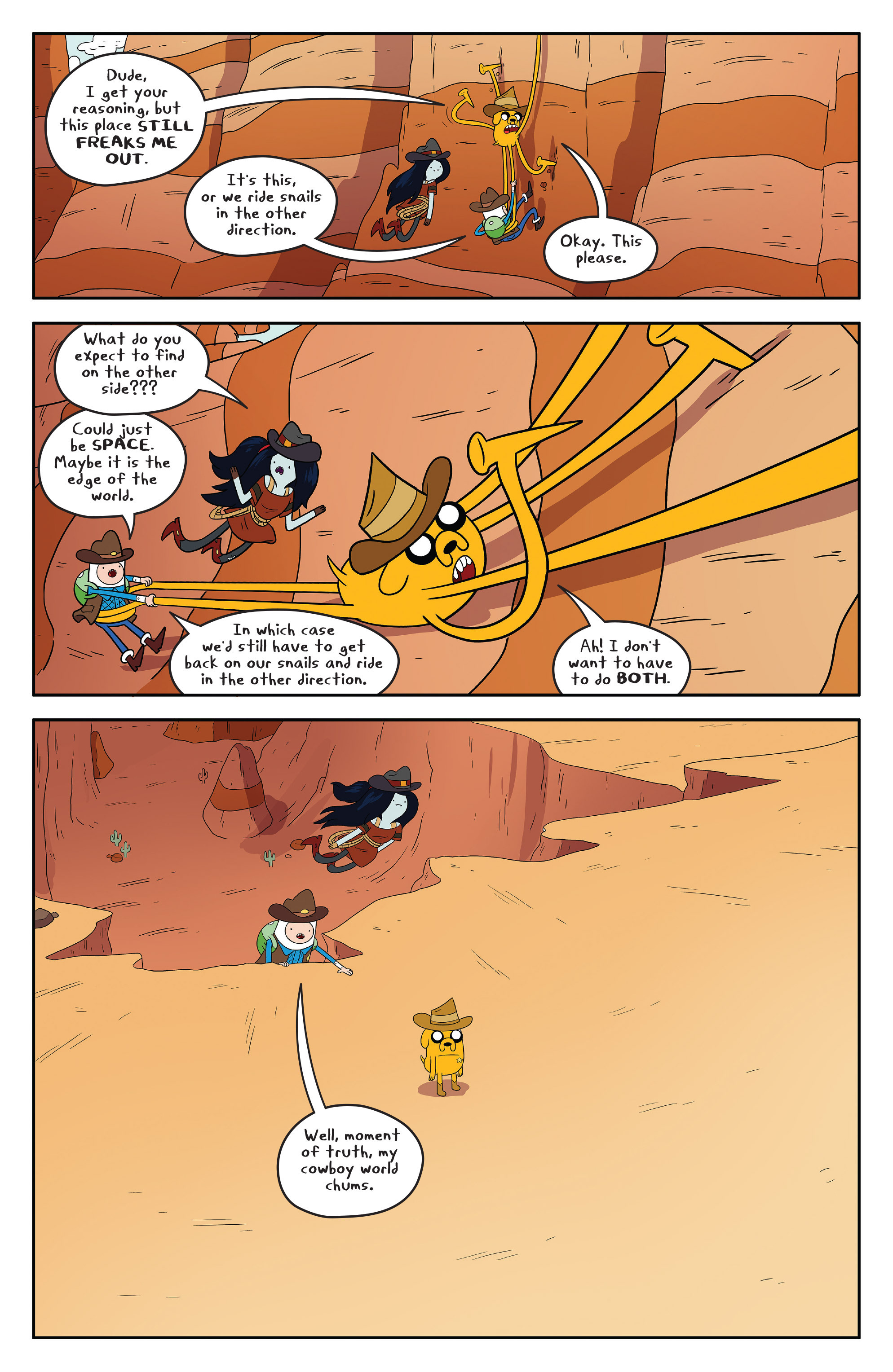 Read online Adventure Time comic -  Issue #54 - 20