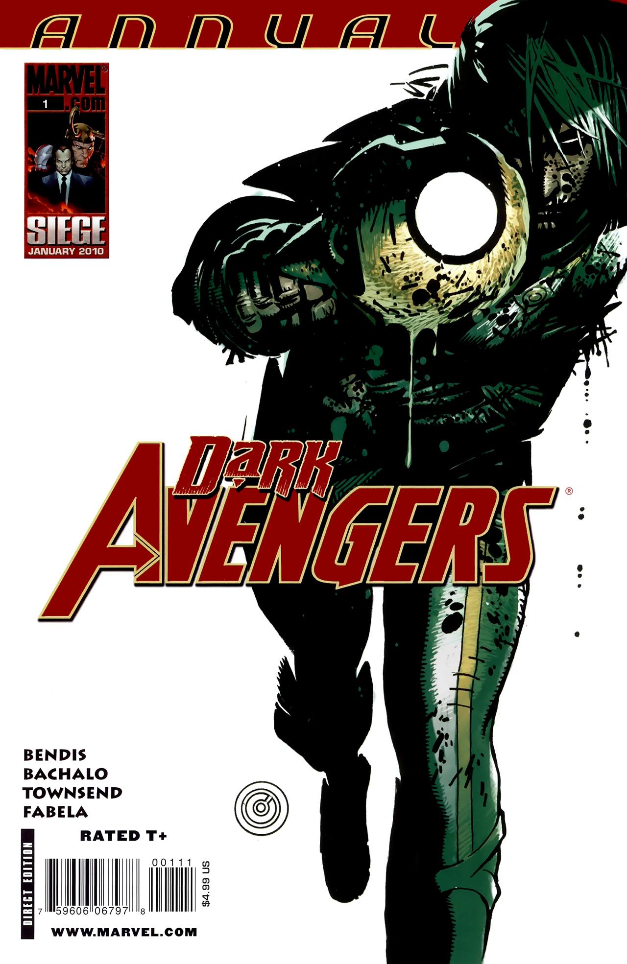 Read online Dark Avengers (2009) comic -  Issue # _Annual 1 - 1
