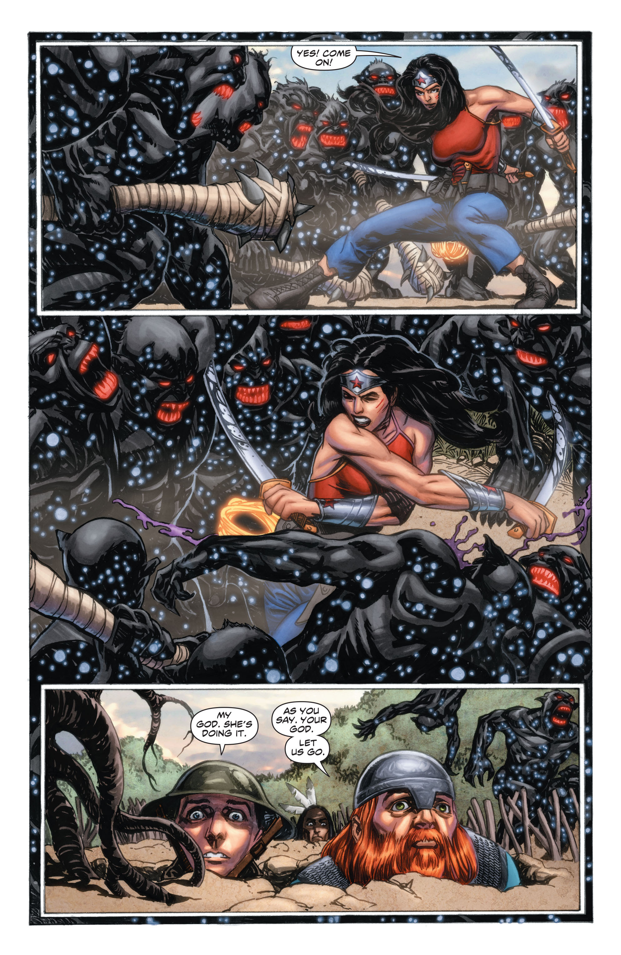 Read online Wonder Woman: Futures End comic -  Issue # Full - 8