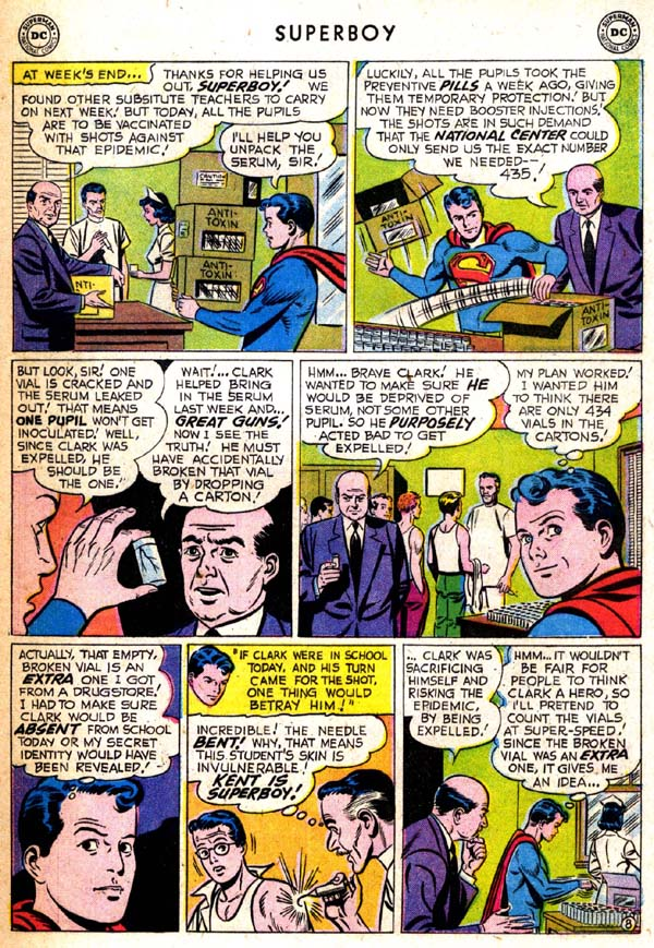 Superboy (1949) issue 71 - Page 18
