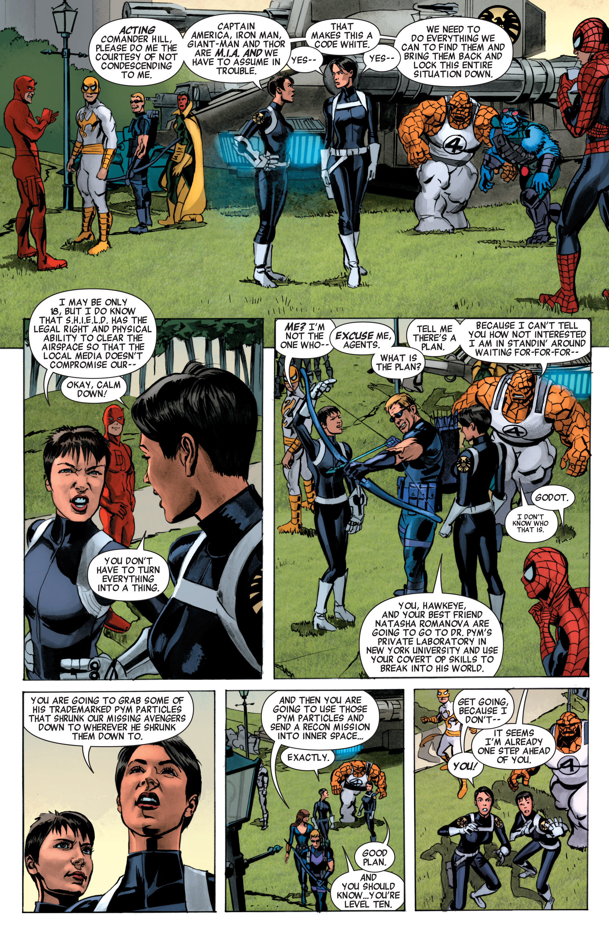 Read online Avengers (2010) comic -  Issue #34 - 4