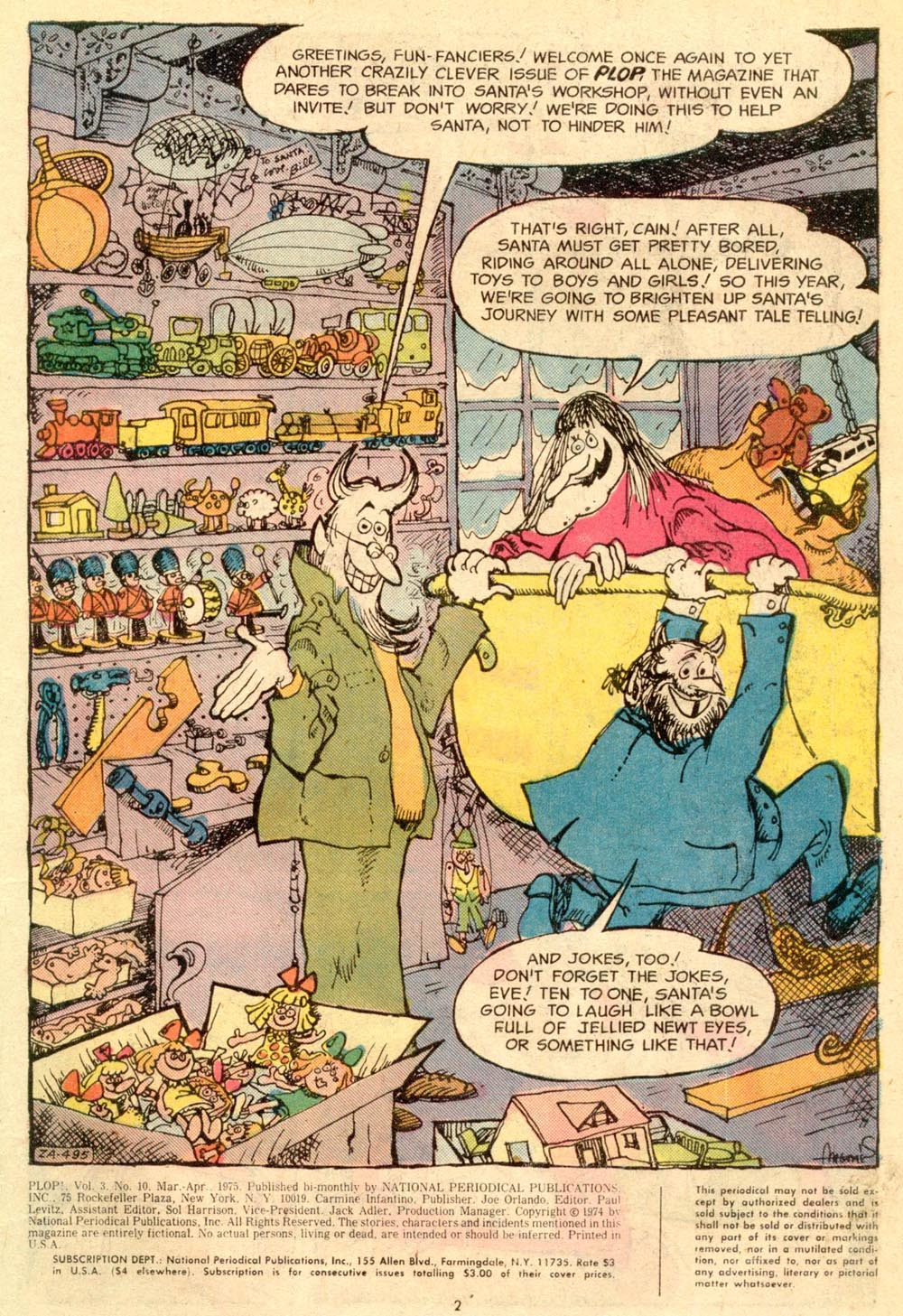 Read online Plop! comic -  Issue #10 - 3