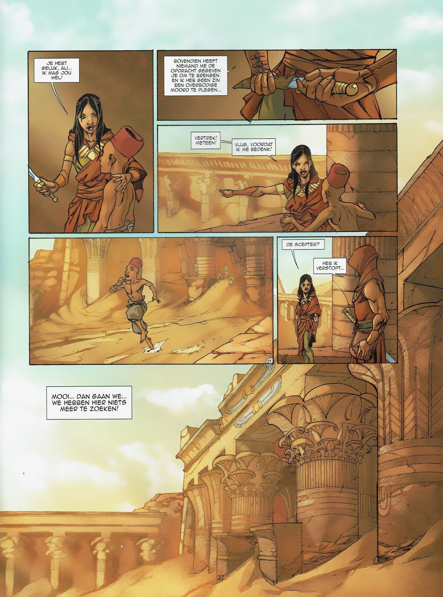 Read online Assassin's Creed (2009) comic -  Issue #6 - 28
