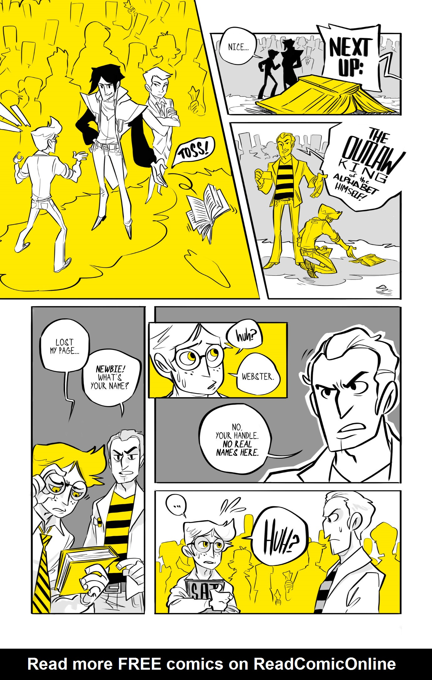 Read online BUZZ! comic -  Issue # TPB - 18