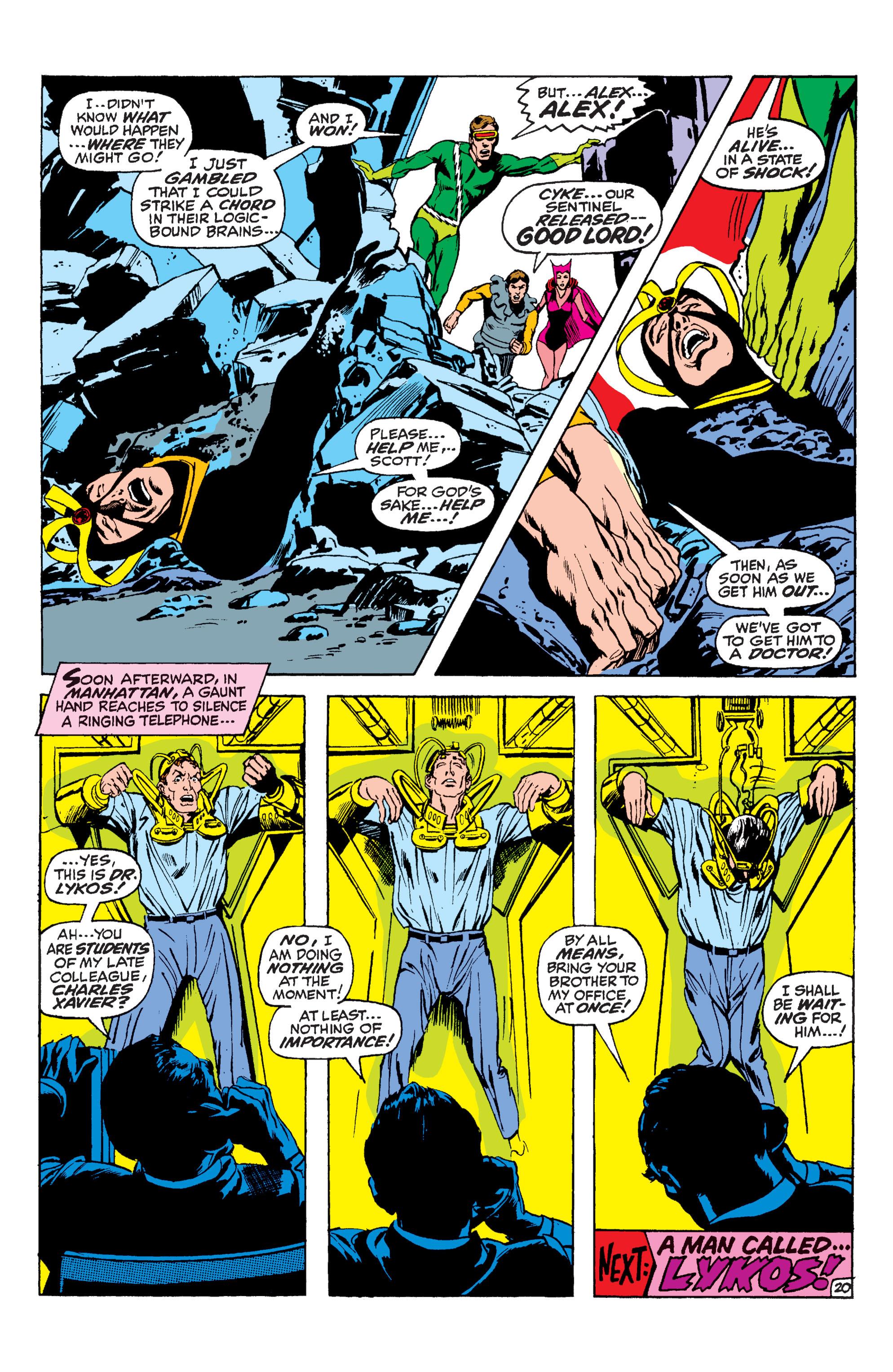 Read online Uncanny X-Men (1963) comic -  Issue #59 - 21