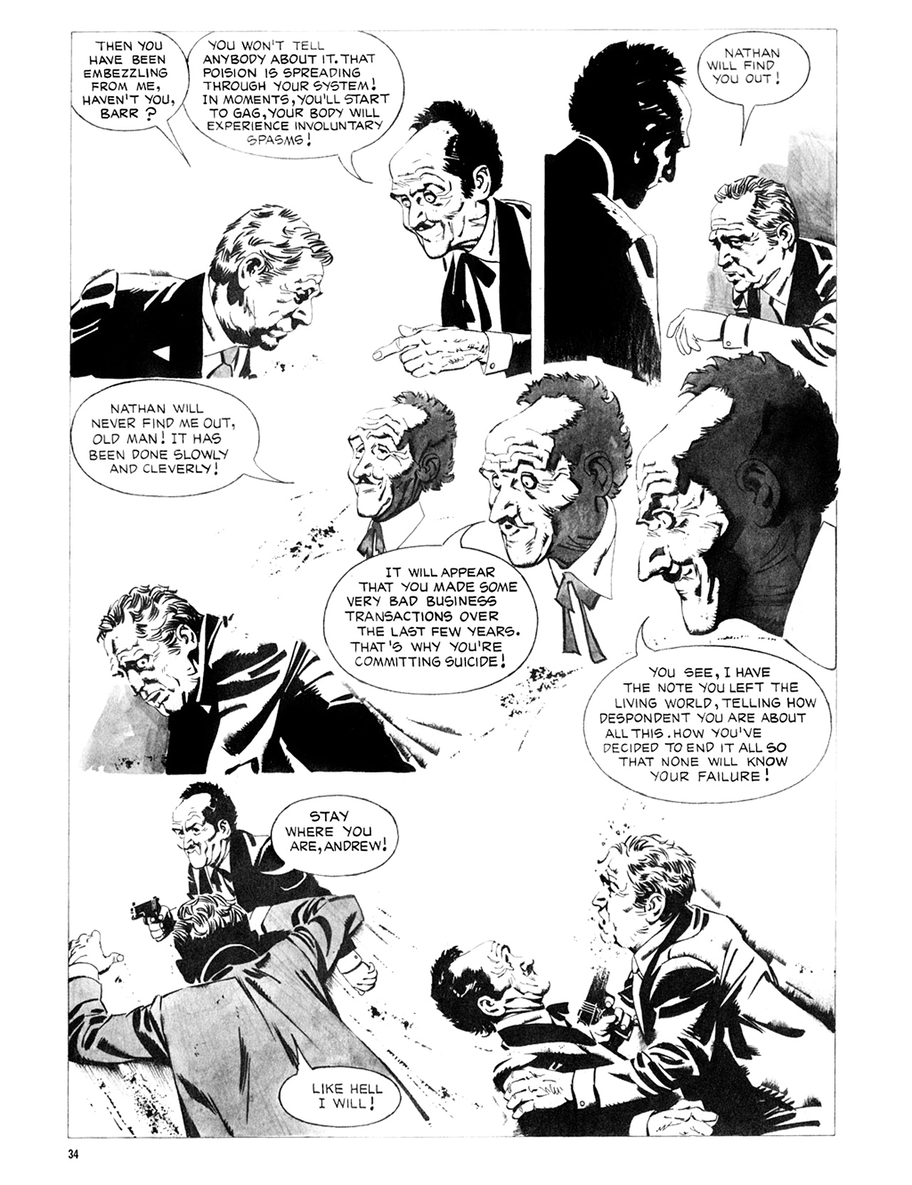 Read online Eerie Archives comic -  Issue # TPB 8 - 35