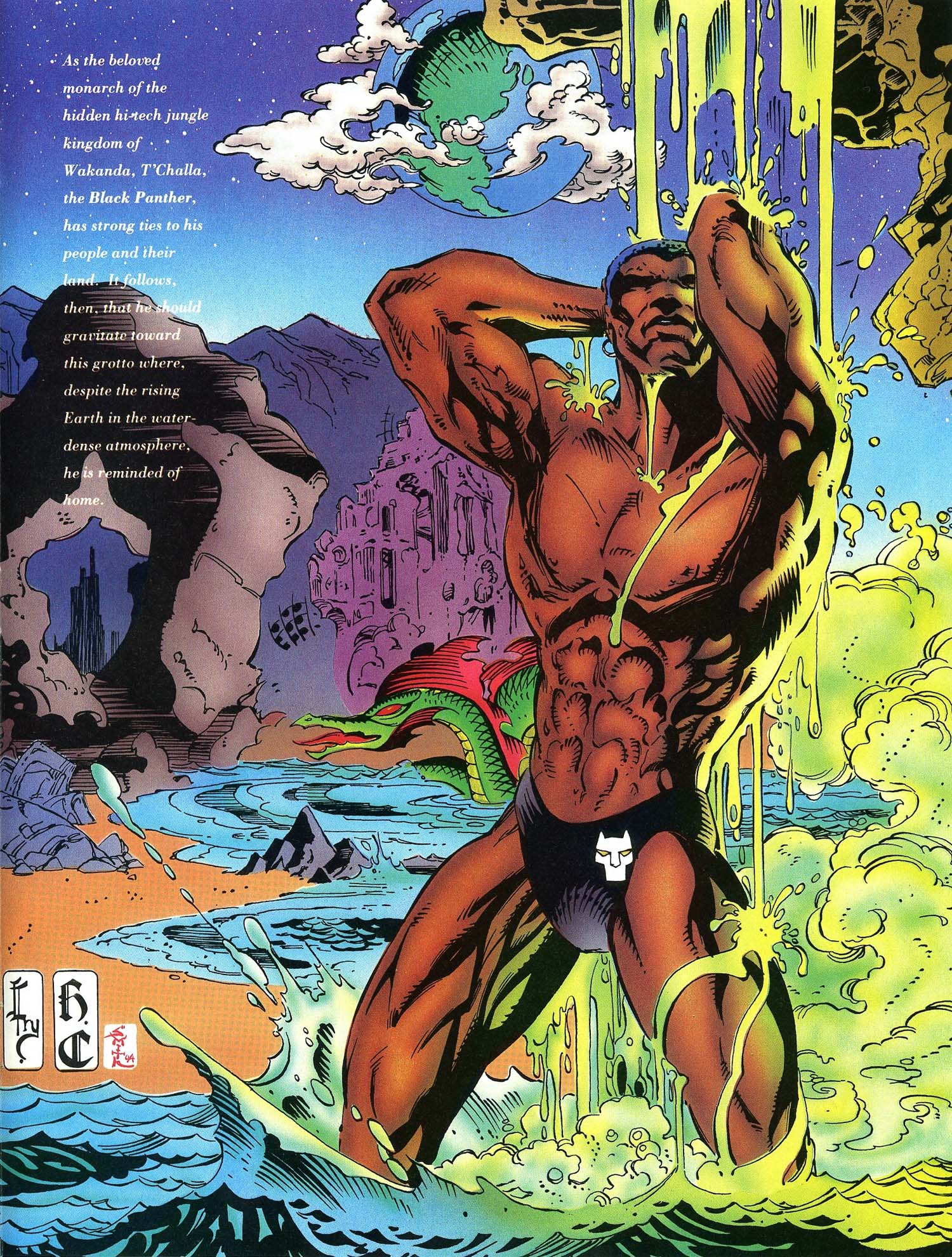 Read online Marvel Swimsuit Special comic -  Issue #3 - 34