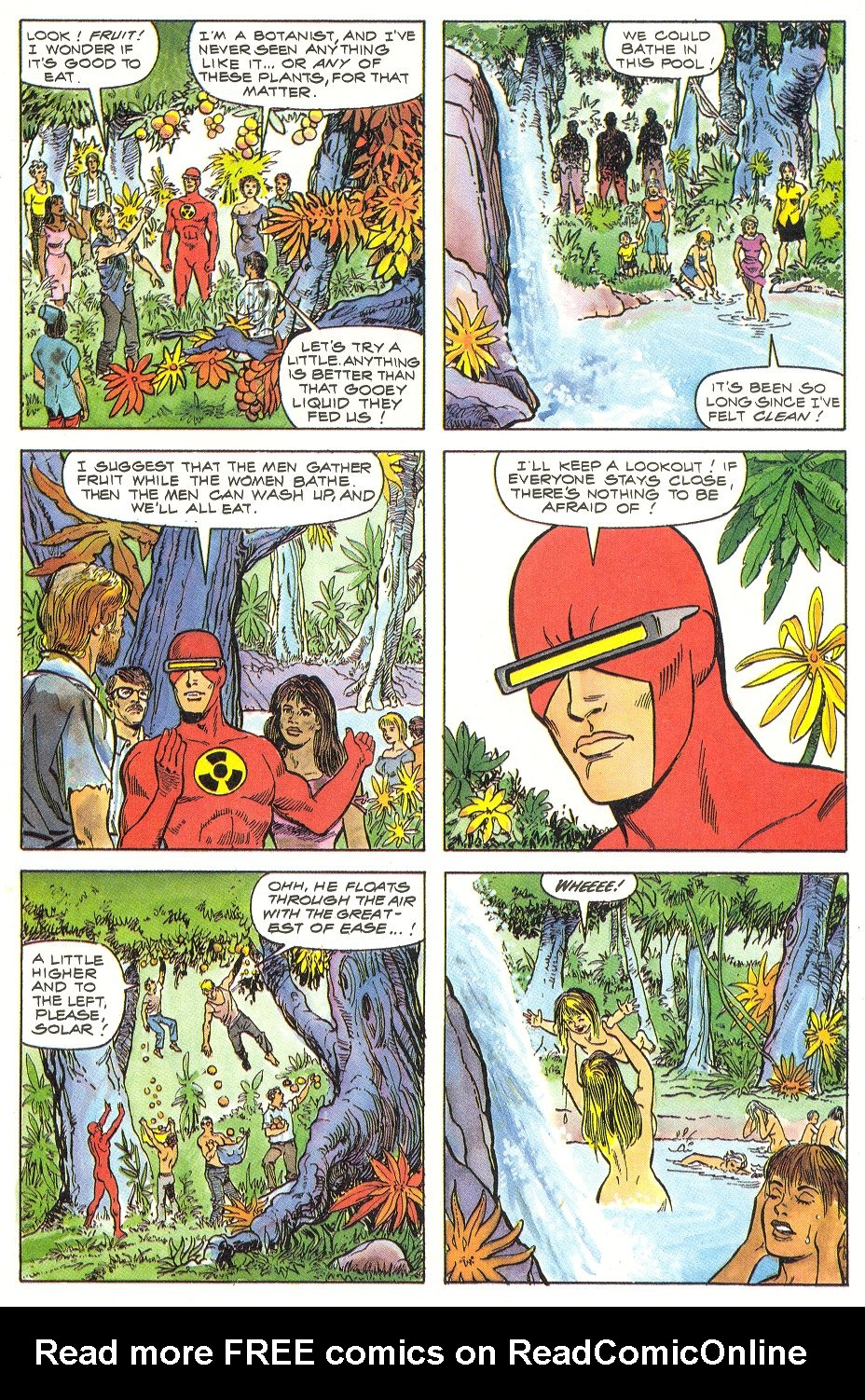 Read online Solar, Man of the Atom comic -  Issue #6 - 13