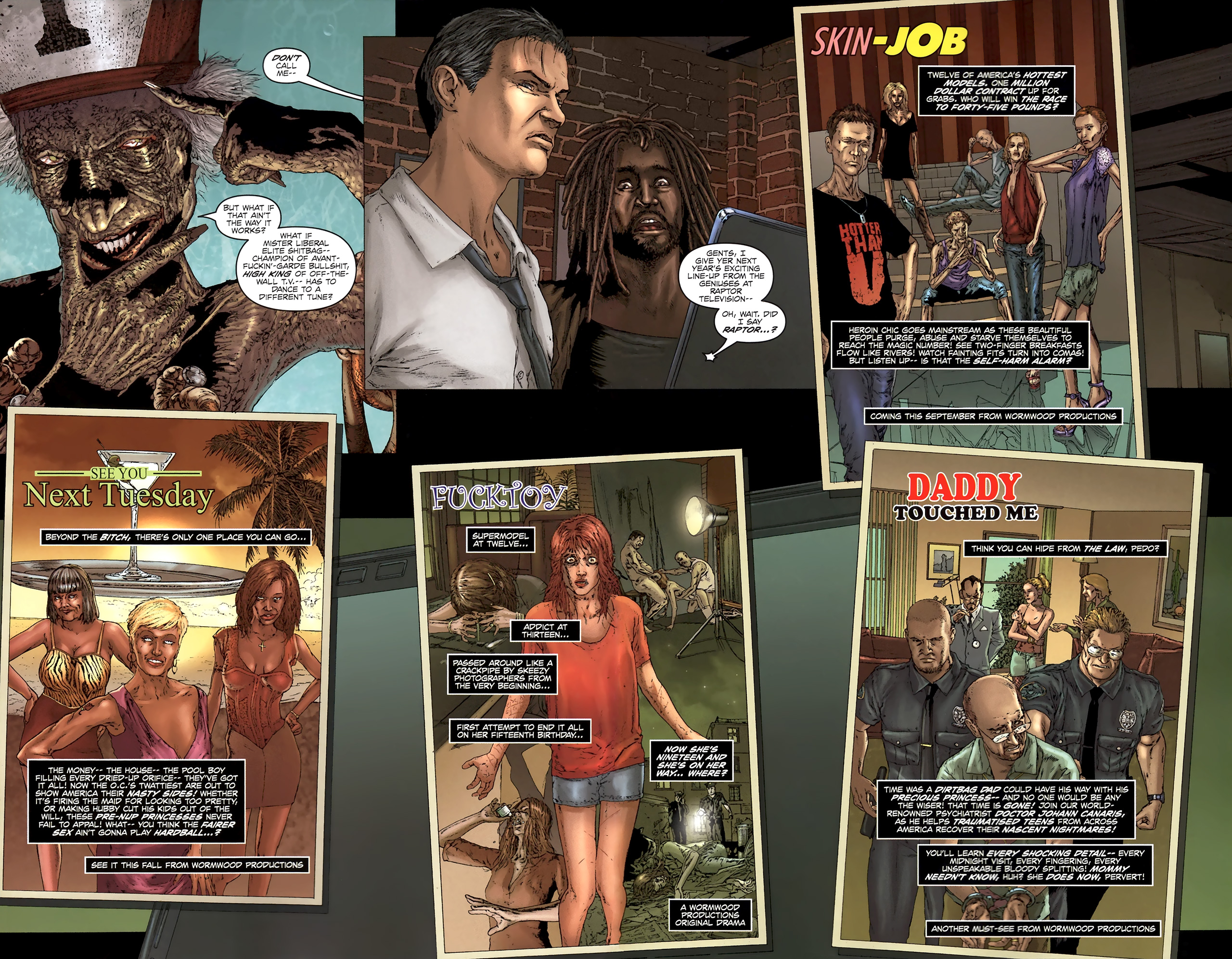Read online Chronicles of Wormwood: The Last Battle comic -  Issue #5 - 21