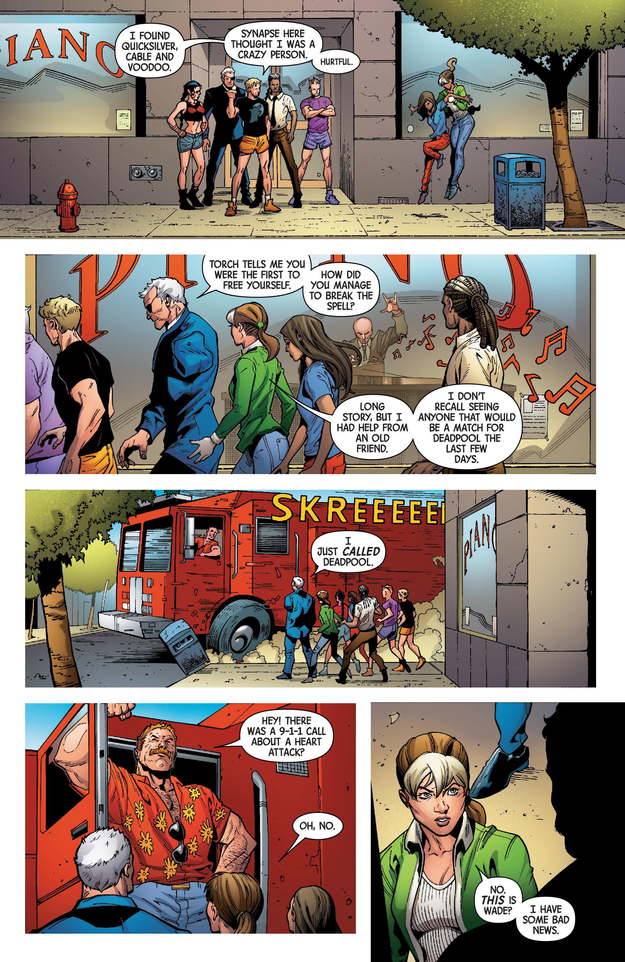 Read online Uncanny Avengers [II] comic -  Issue #8 - 15