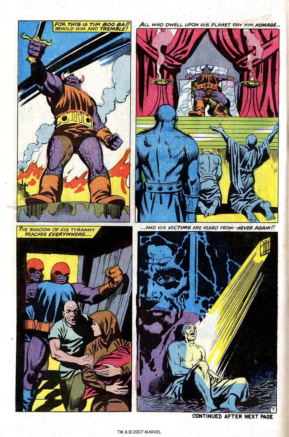 Read online Silver Surfer (1968) comic -  Issue #4 - 58
