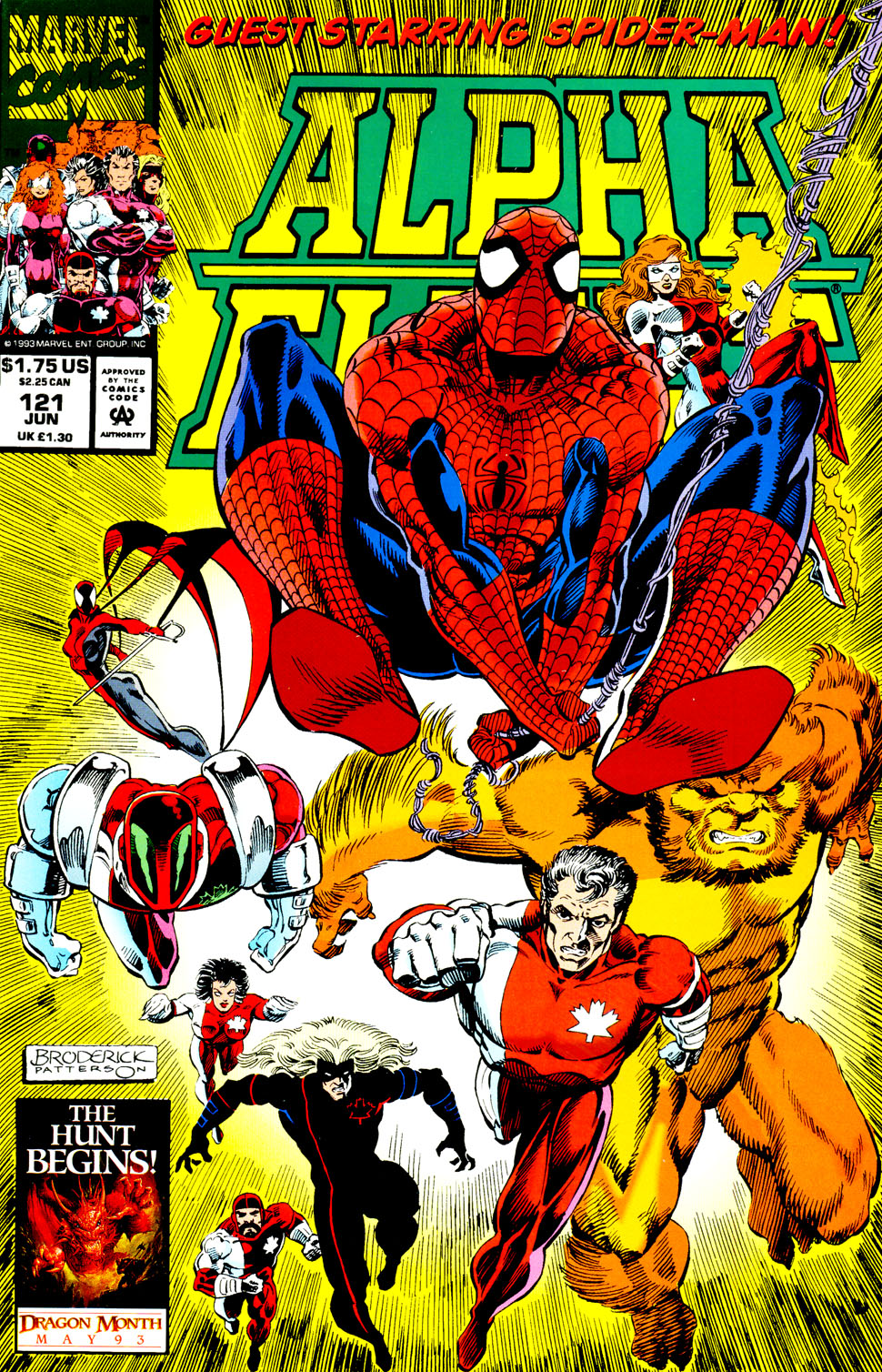 Read online Alpha Flight (1983) comic -  Issue #121 - 2