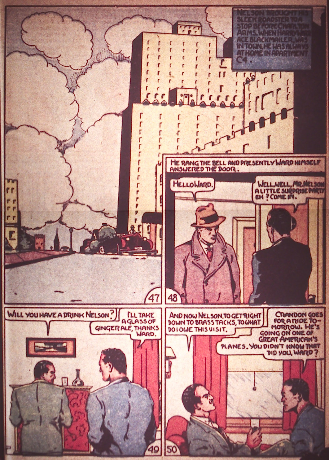 Read online Detective Comics (1937) comic -  Issue #12 - 31