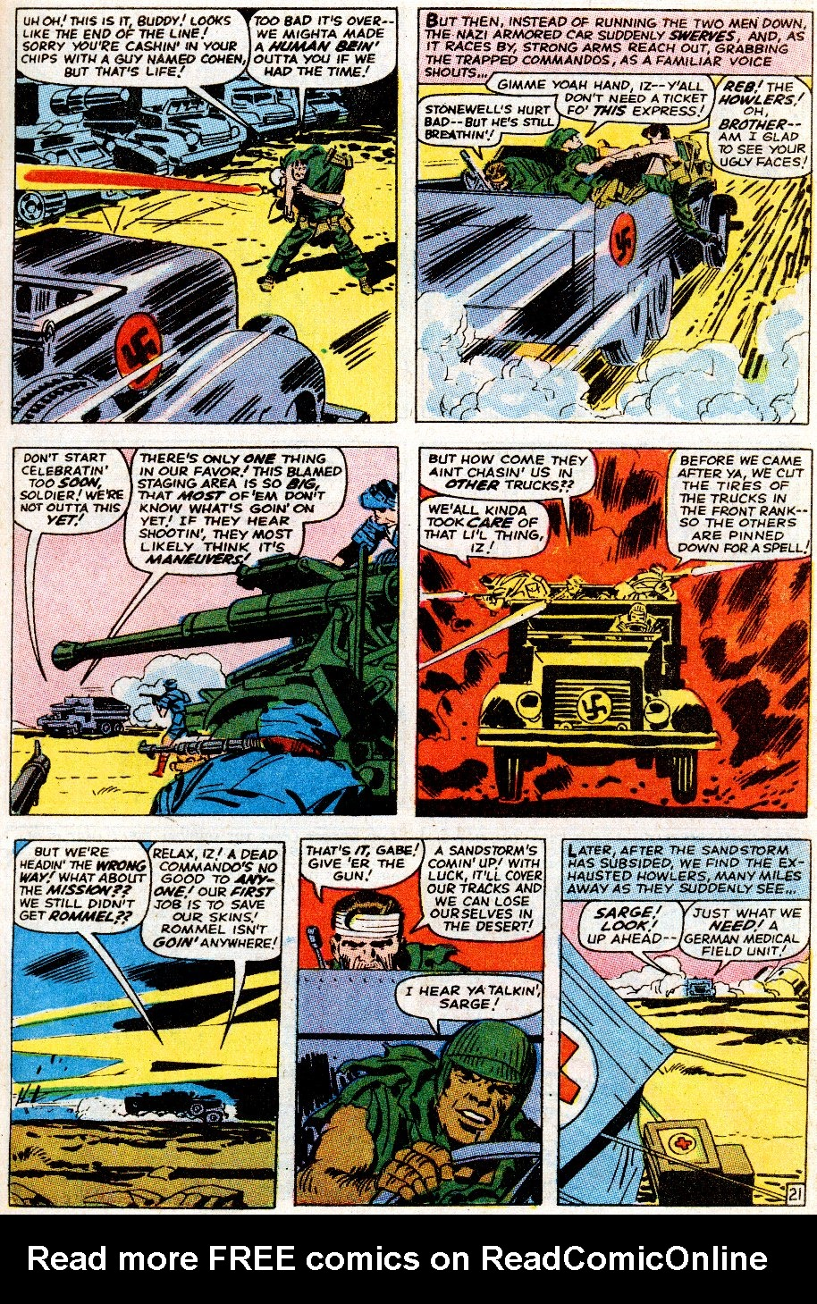 Read online Sgt. Fury comic -  Issue # _Special 5 - 27