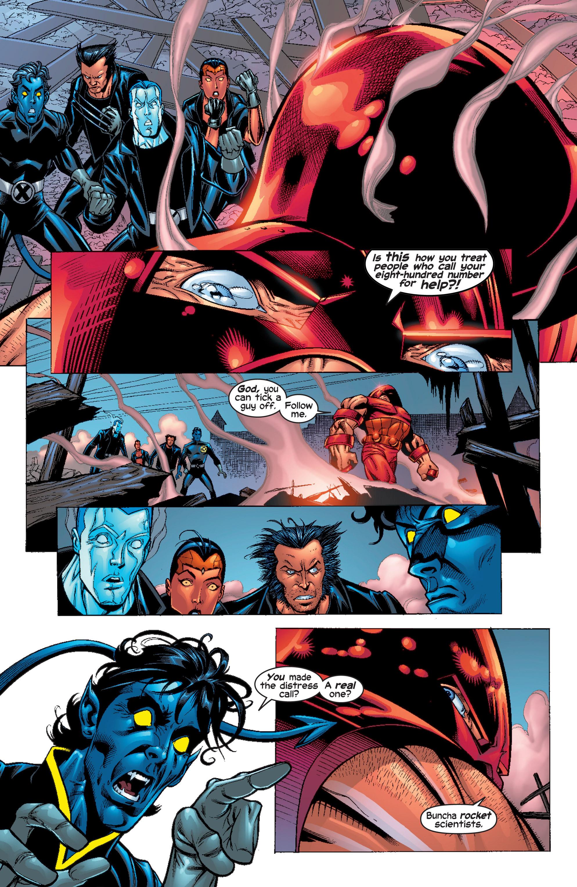 Read online Uncanny X-Men (1963) comic -  Issue #411 - 8