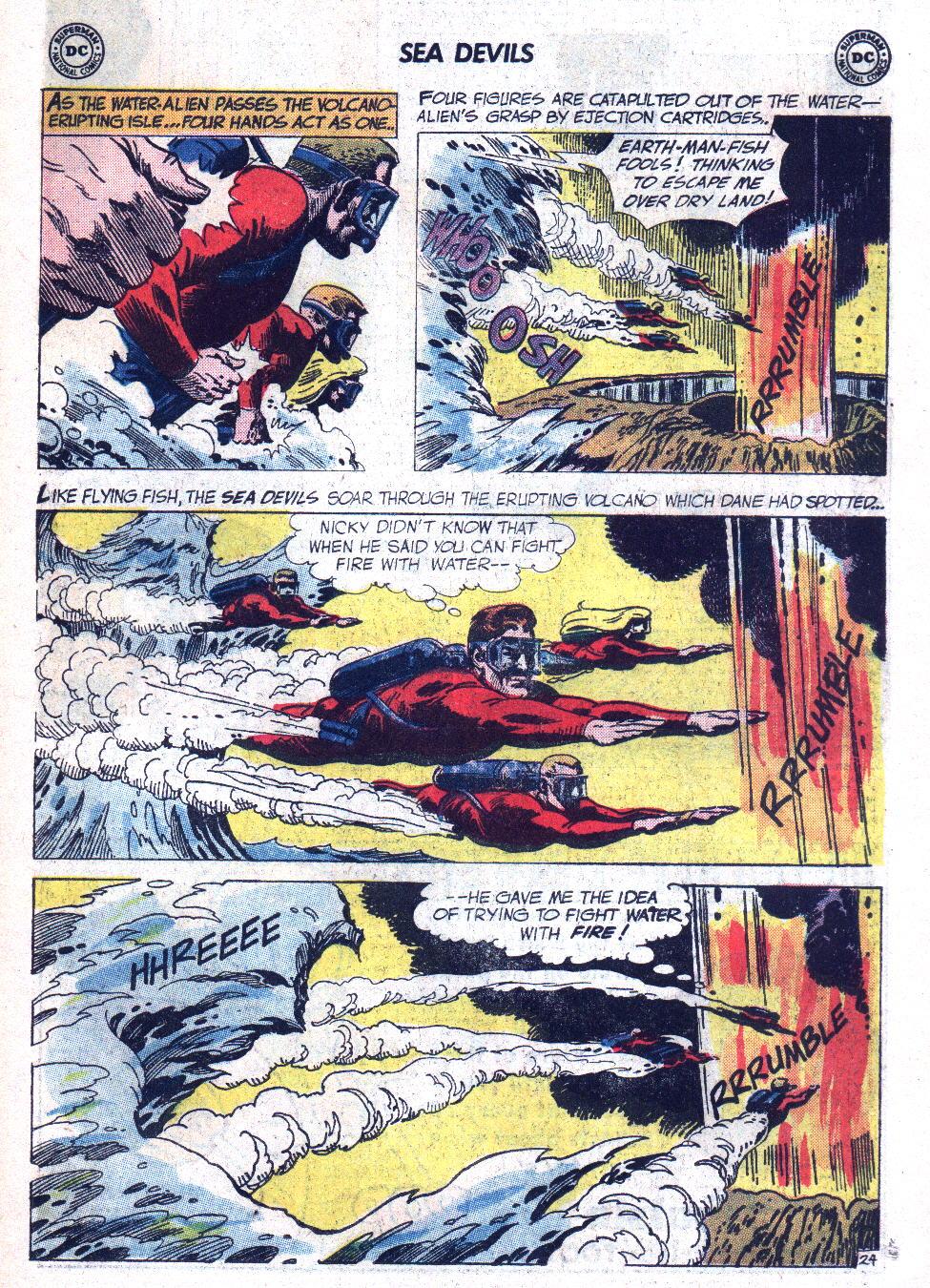 Read online Sea Devils comic -  Issue #7 - 32