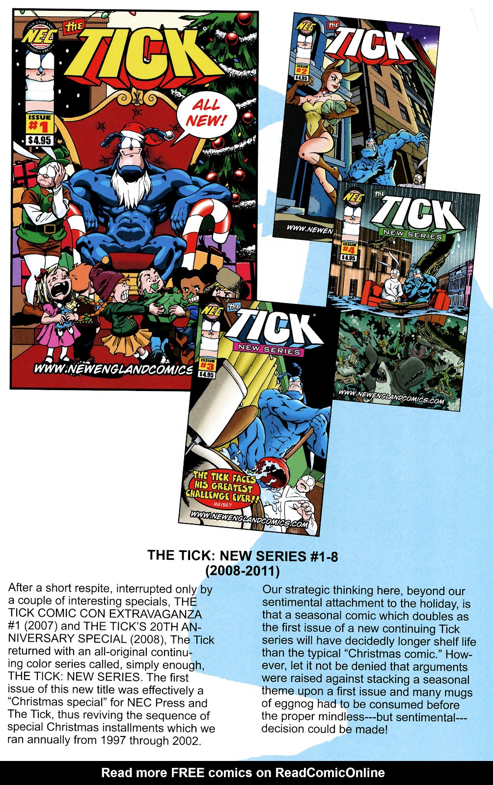 Read online The Tick comic -  Issue #101 - 41