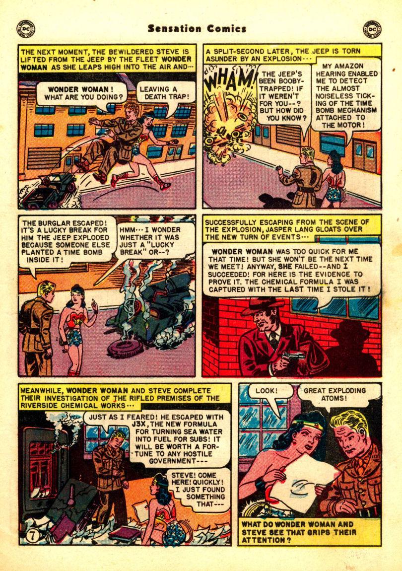 Read online Sensation (Mystery) Comics comic -  Issue #99 - 9