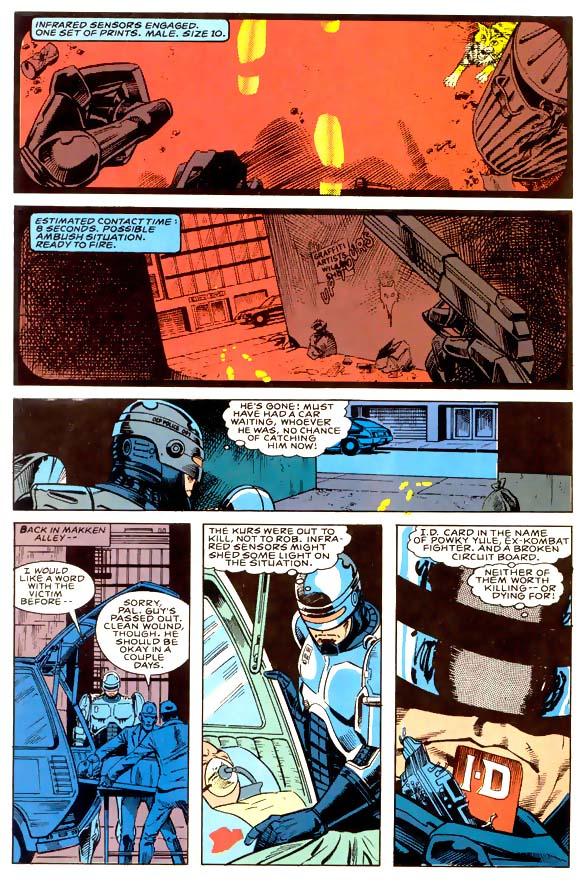 Read online Robocop (1990) comic -  Issue #1 - 7
