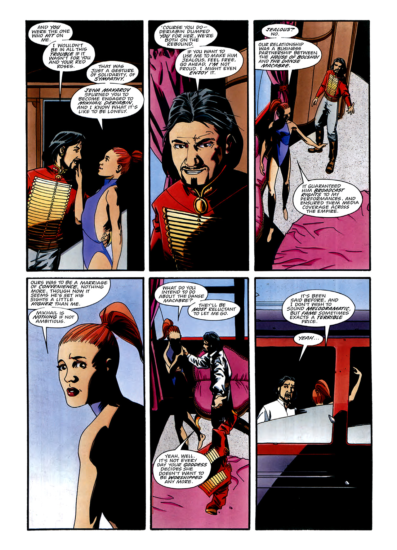 Read online Nikolai Dante comic -  Issue # TPB 3 - 28