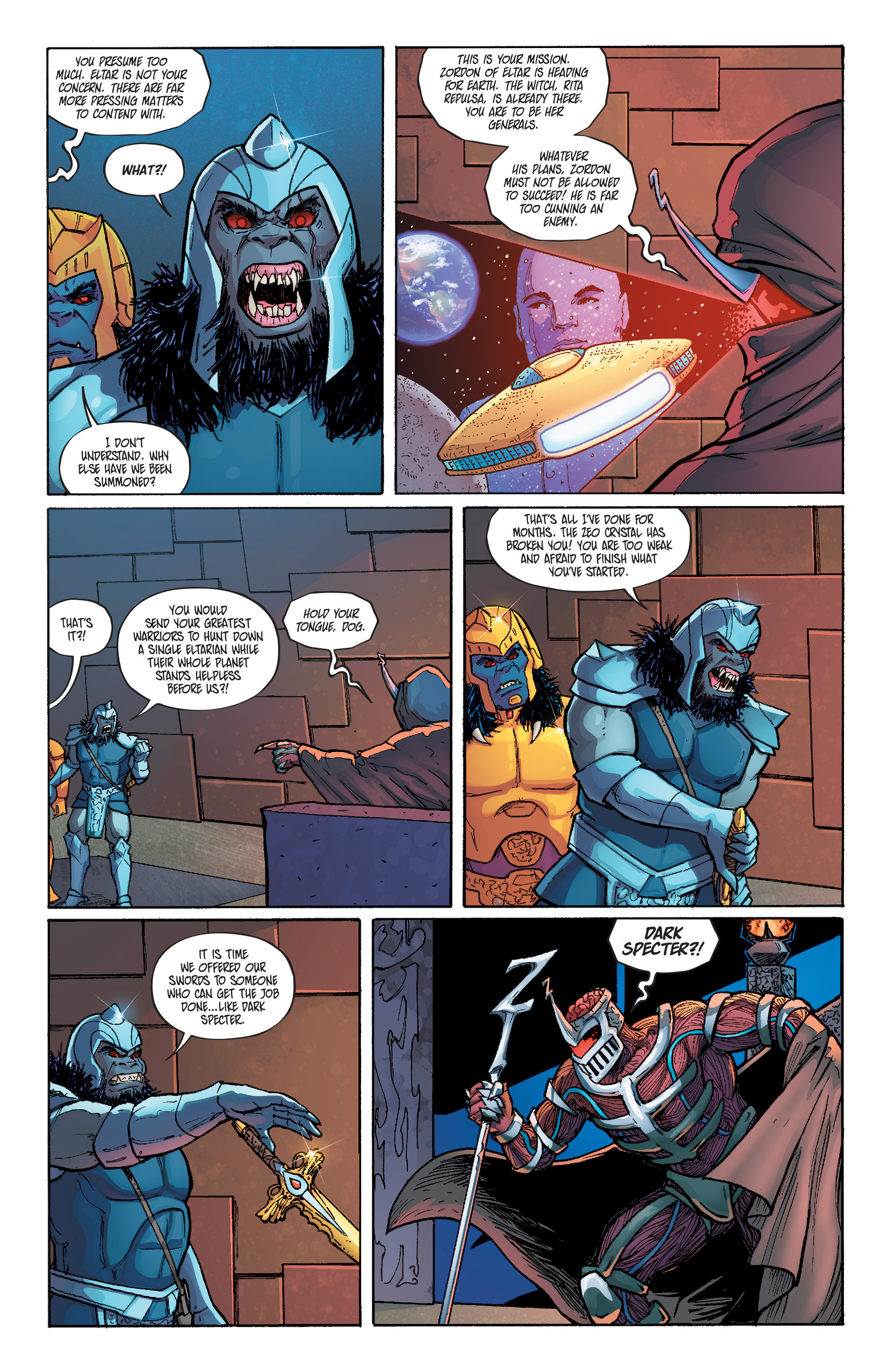 Read online Mighty Morphin Power Rangers comic -  Issue # _Annual 1 - 27