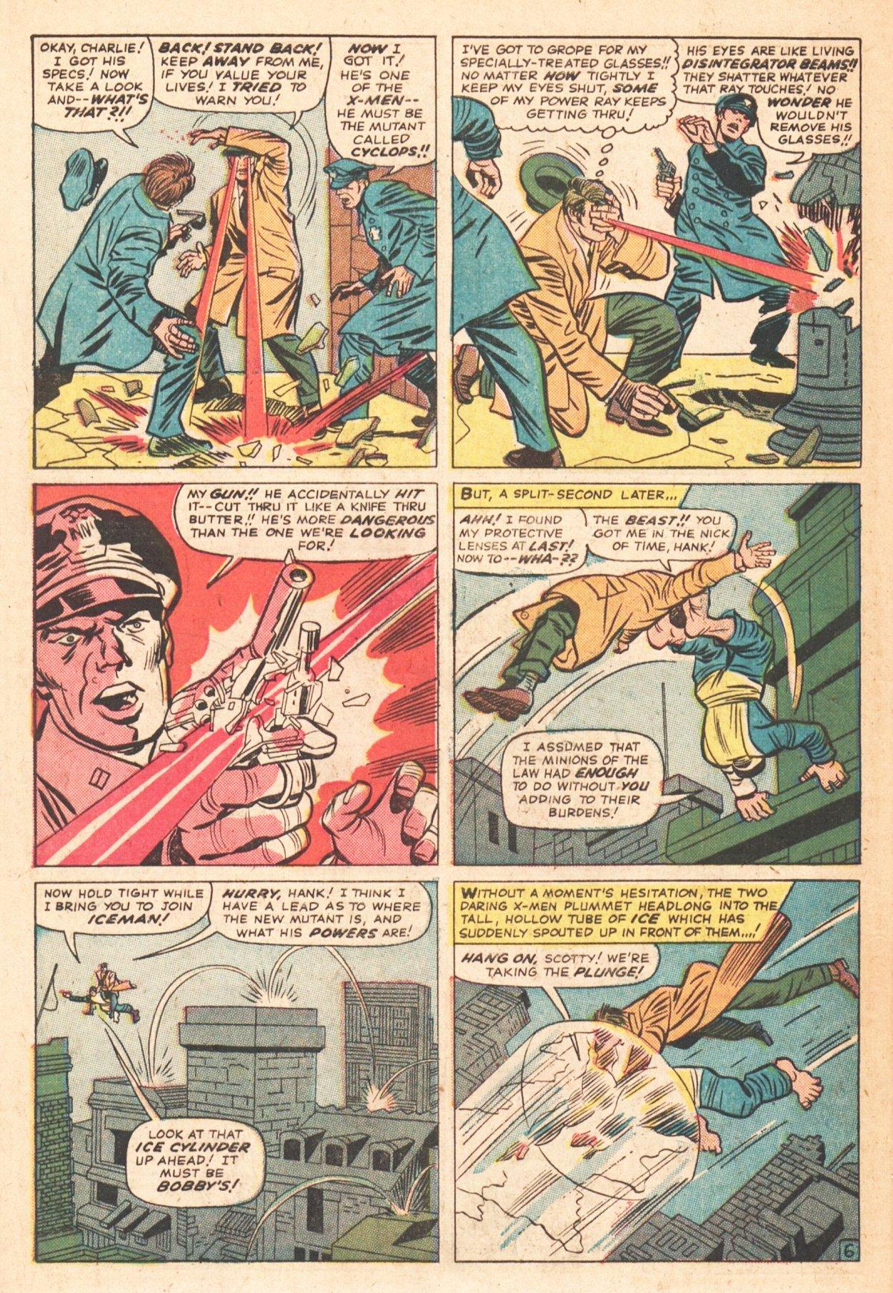 Read online Uncanny X-Men (1963) comic -  Issue # _Annual 1 - 33