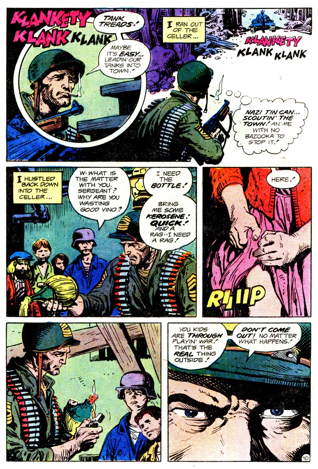 Read online Sgt. Rock comic -  Issue #358 - 11