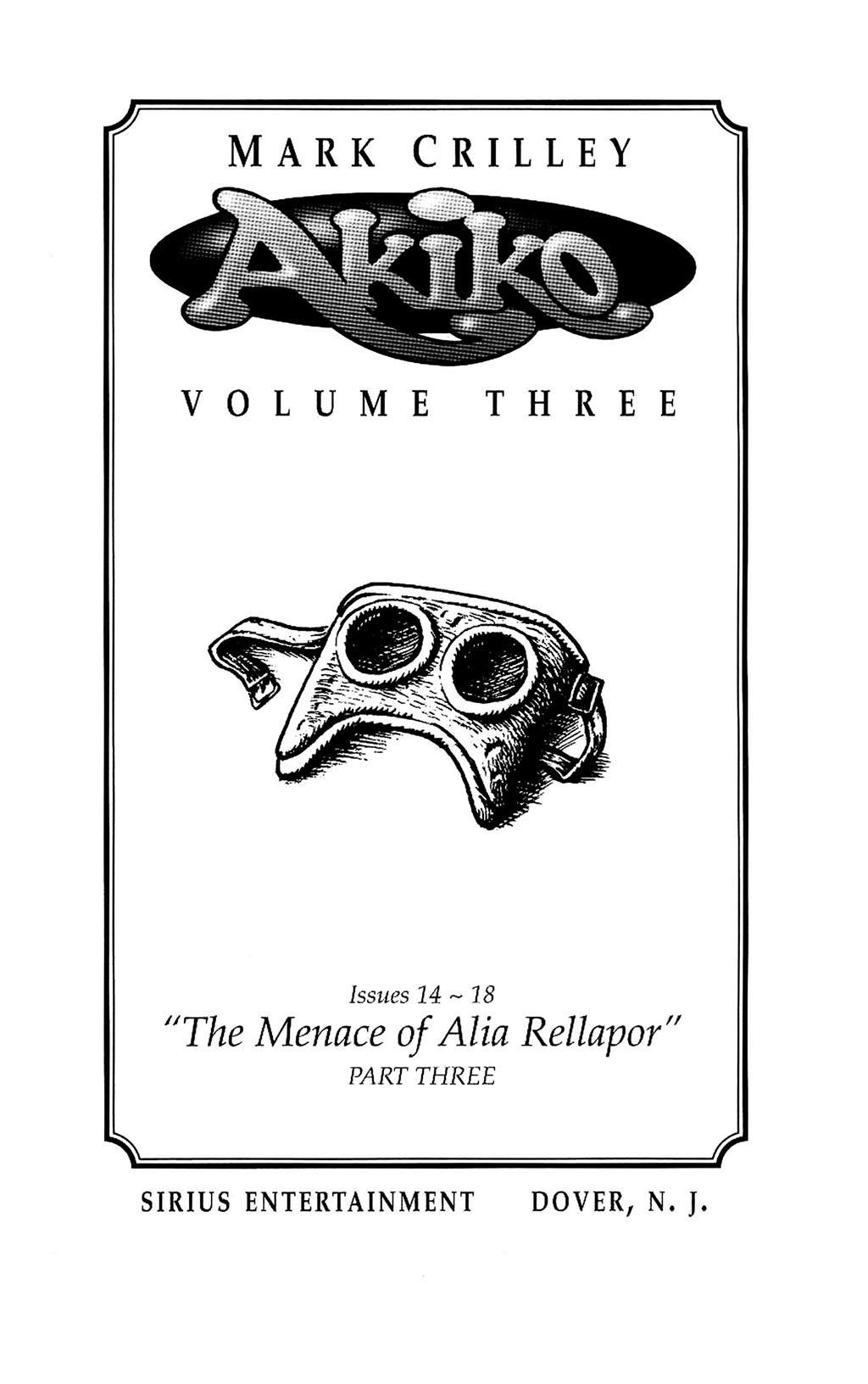 Read online Akiko comic -  Issue #Akiko _TPB 3 - 2