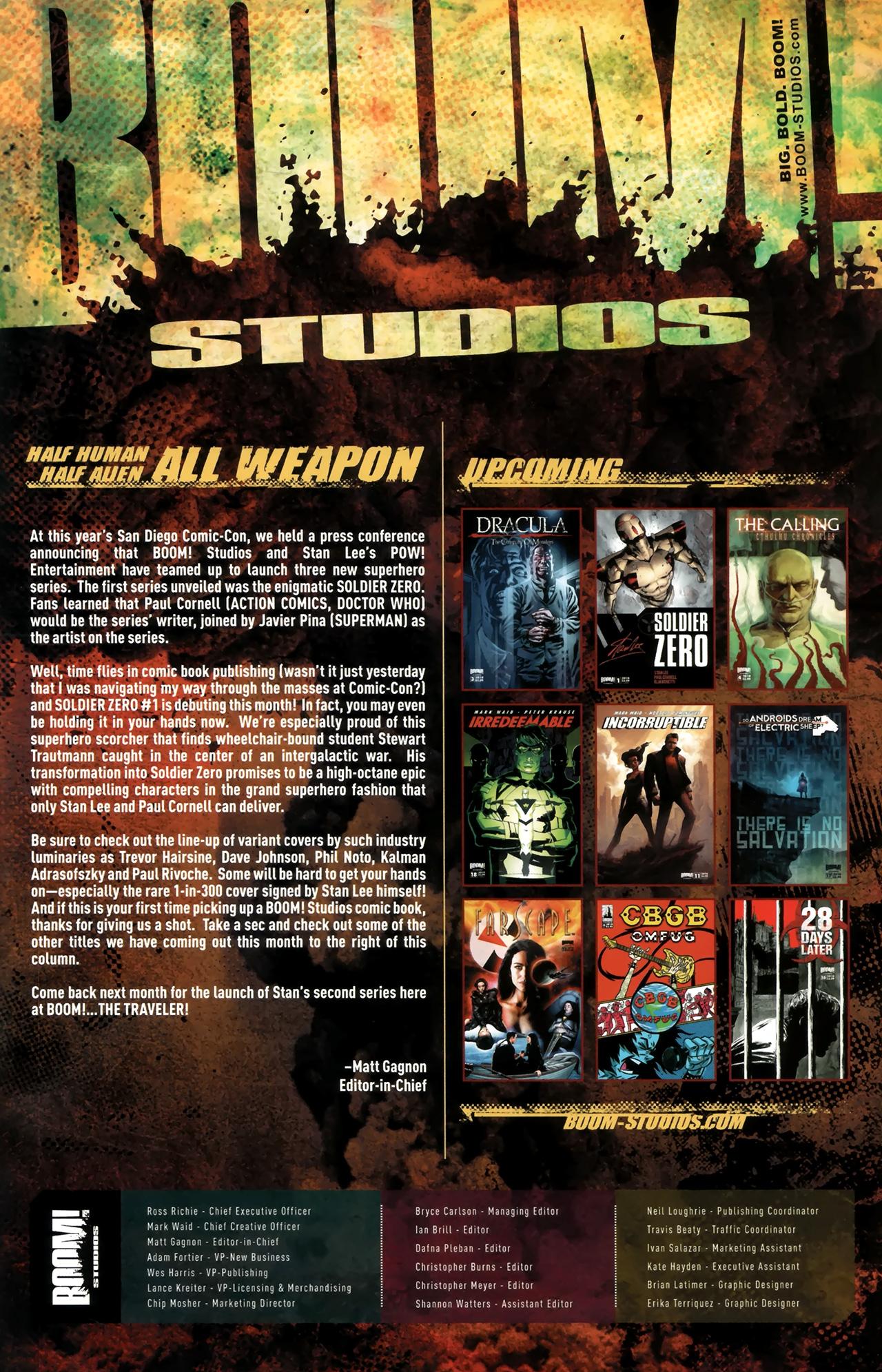 Read online Soldier Zero comic -  Issue #1 - 27
