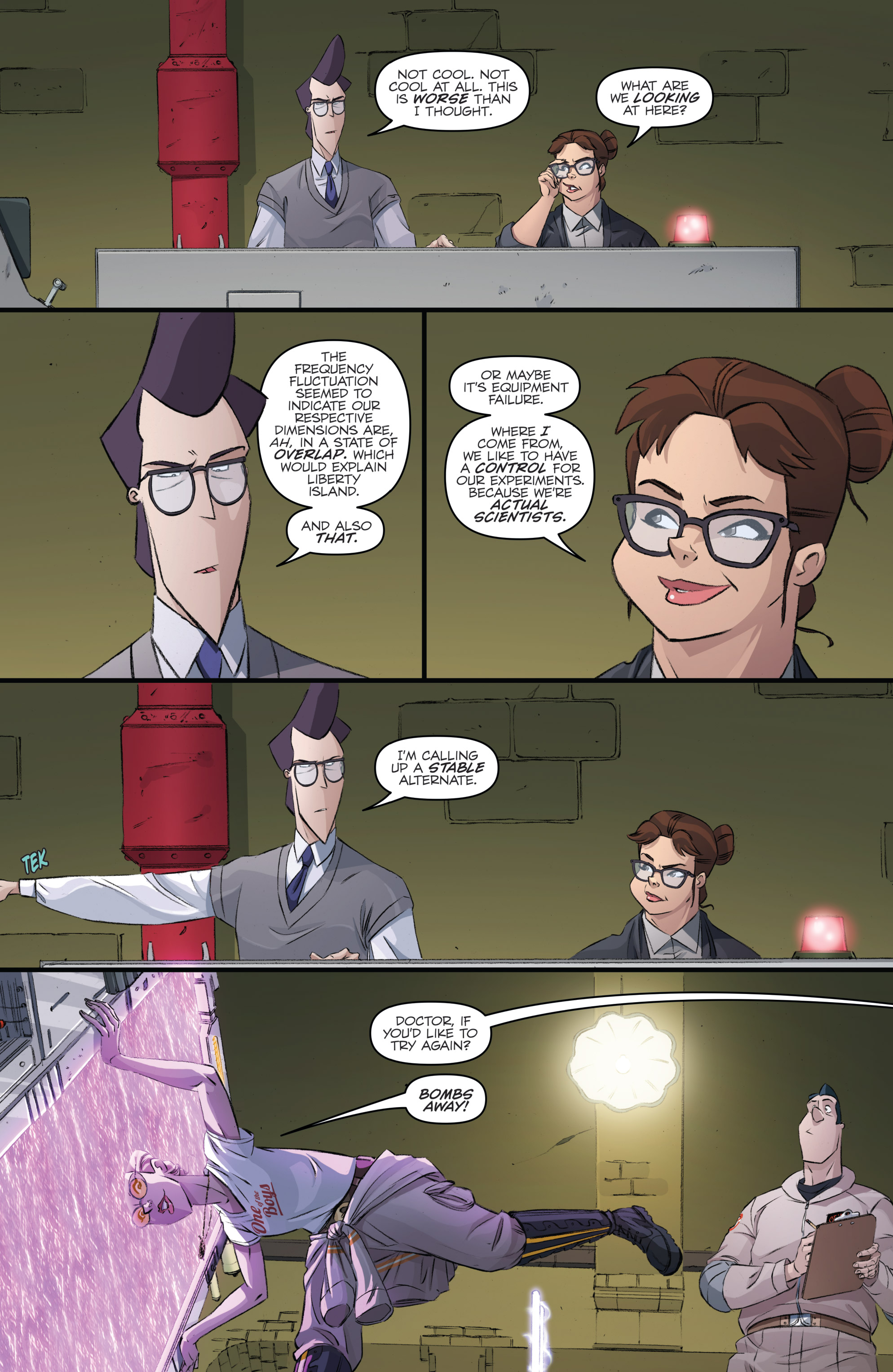 Read online Ghostbusters 101 comic -  Issue #3 - 19