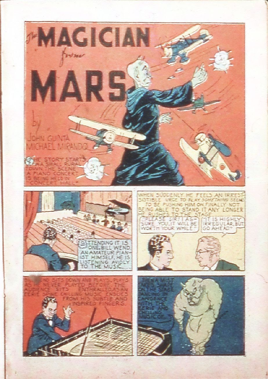 Read online Amazing Man Comics comic -  Issue #9 - 30