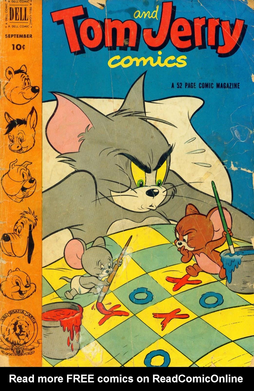 Tom & Jerry Comics 98 Page 1