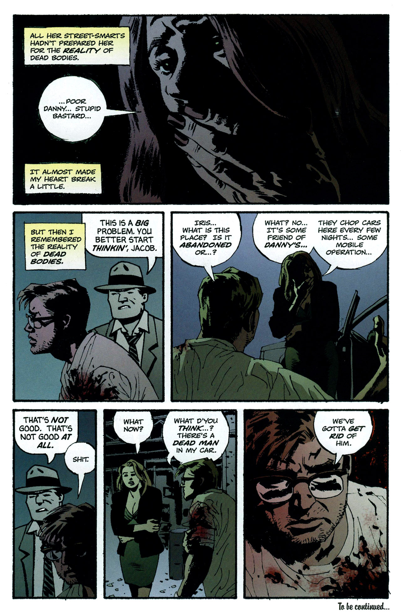 Read online Criminal (2008) comic -  Issue #5 - 28