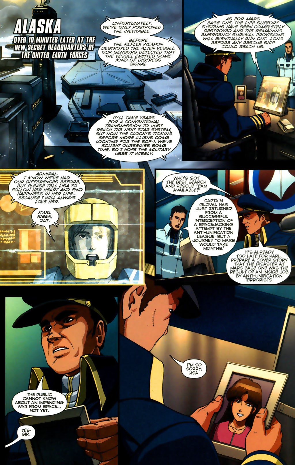 Read online Robotech: Invasion comic -  Issue #5 - 19