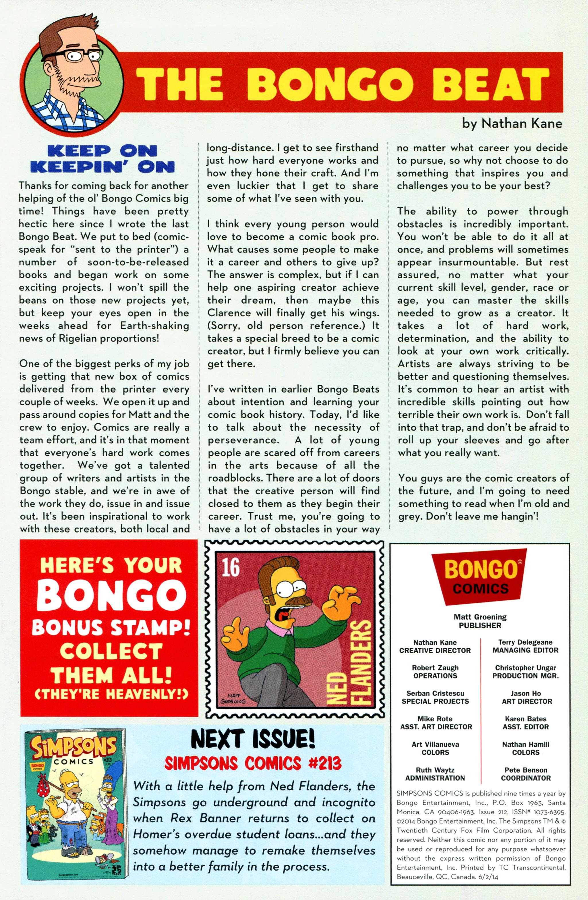 Read online Simpsons Comics comic -  Issue #212 - 27
