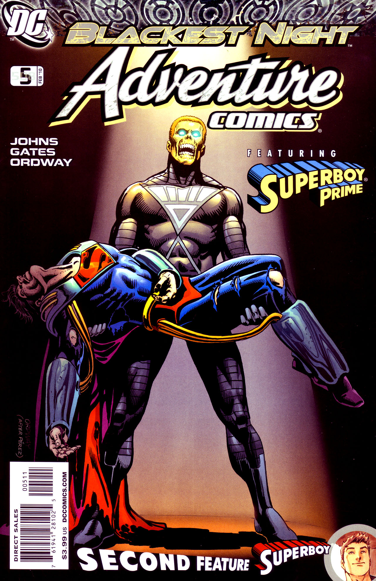 Read online Adventure Comics (2009) comic -  Issue #5 - 1