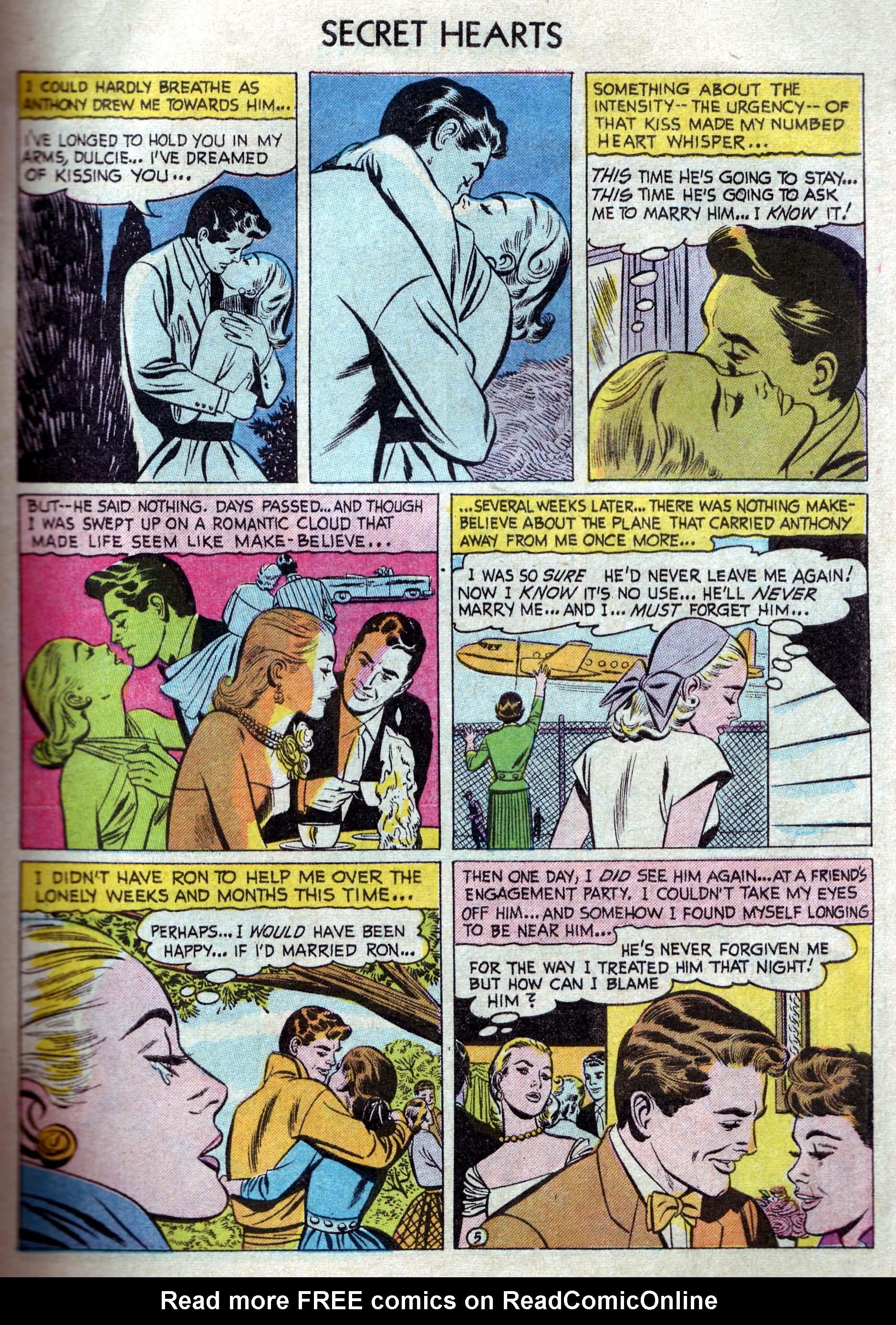 Read online Secret Hearts comic -  Issue #33 - 7