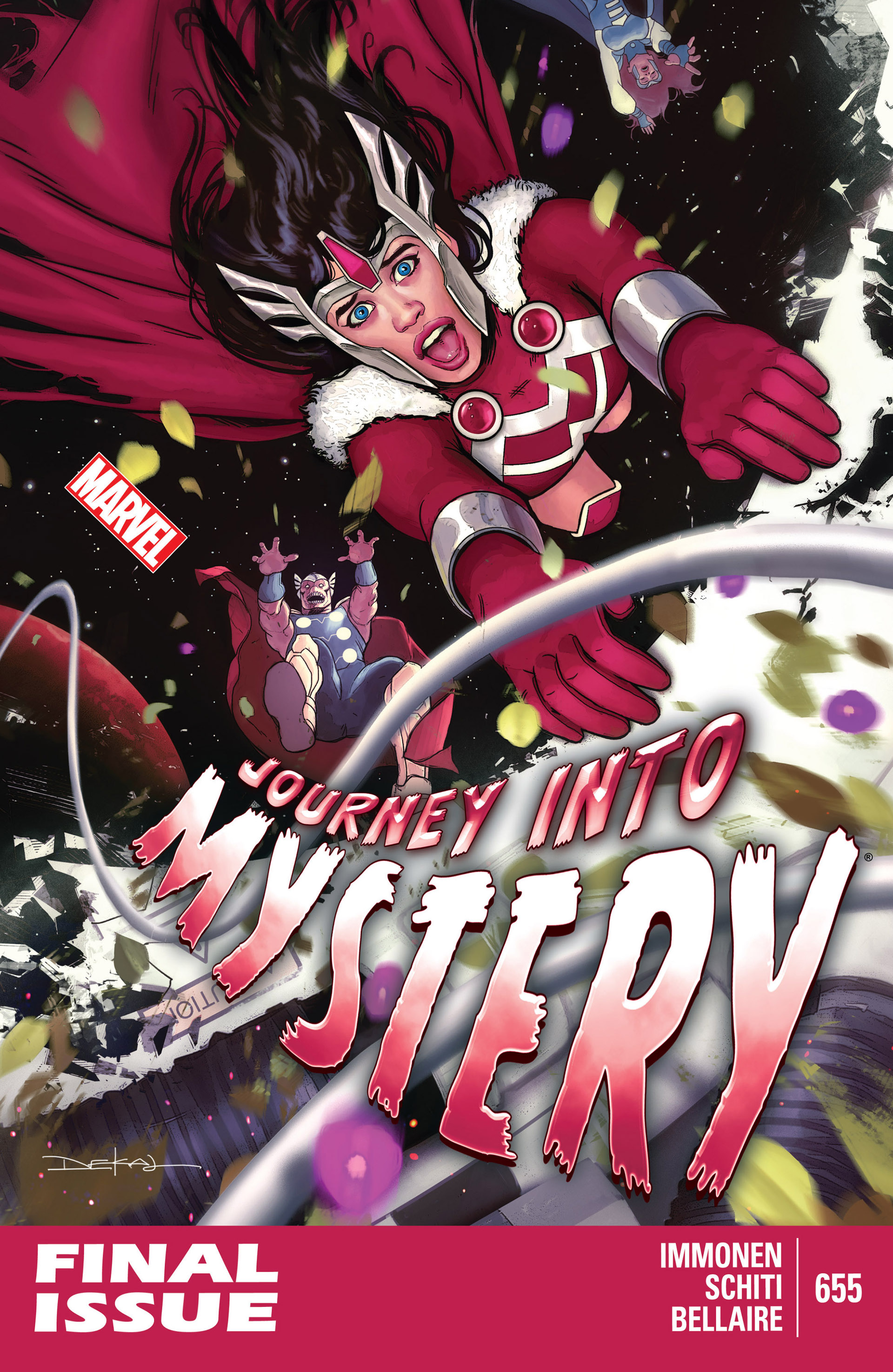 Read online Journey into Mystery (2011) comic -  Issue #655 - 1